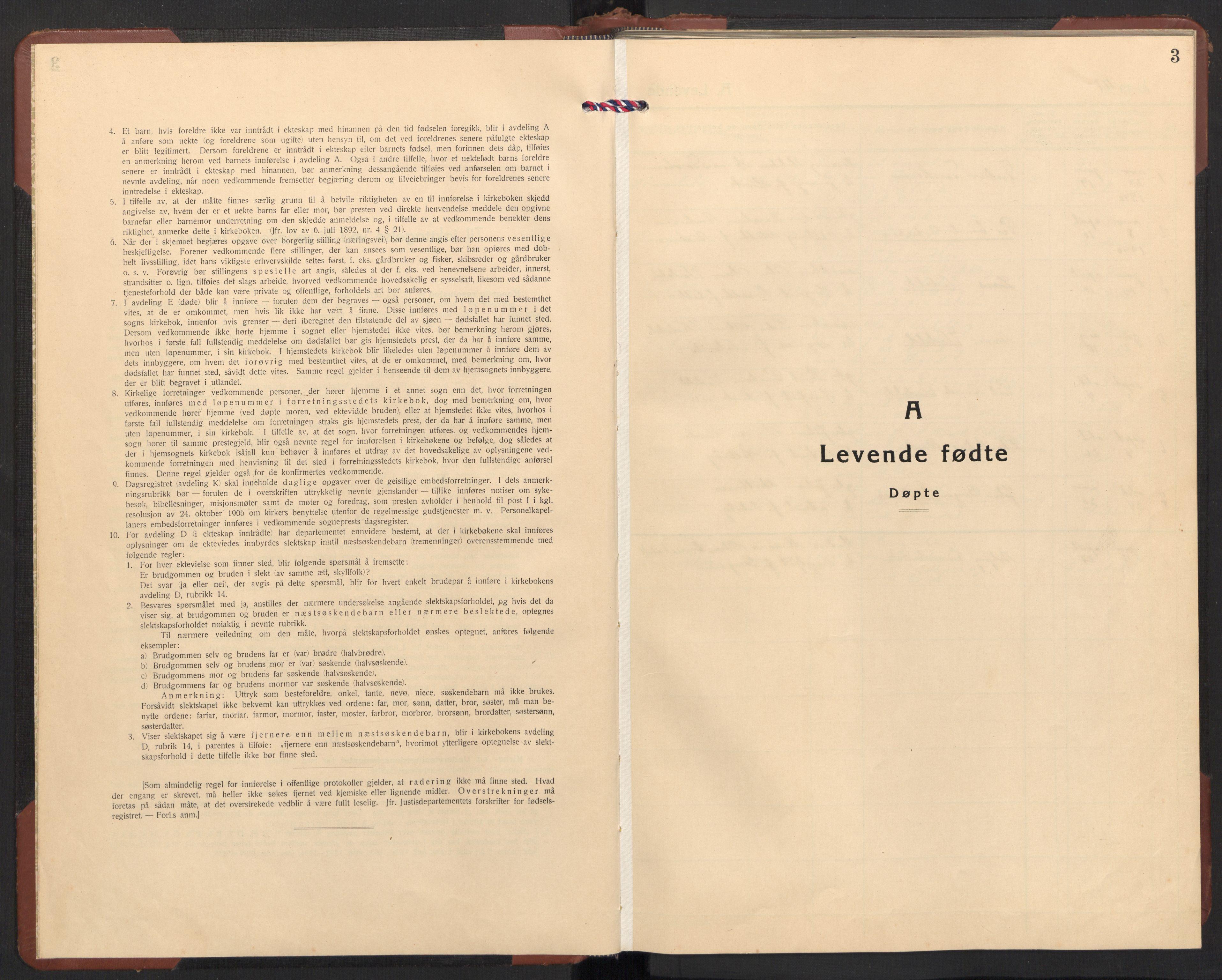SAT, Ministerialprotokoller, klokkerbøker og fødselsregistre - Møre og Romsdal, 504/L0063: Klokkerbok nr. 504C05, 1939-1972, s. 3