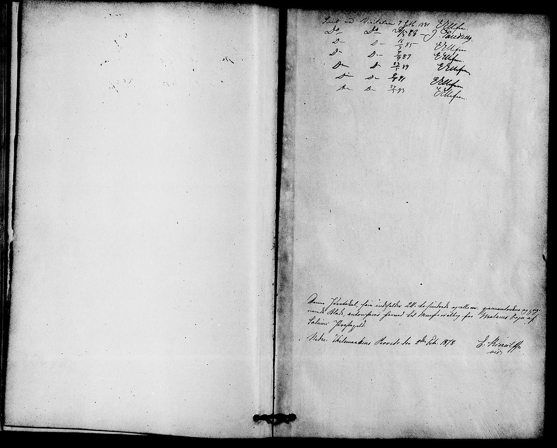 SAKO, Solum kirkebøker, F/Fb/L0001: Ministerialbok nr. II 1, 1877-1892