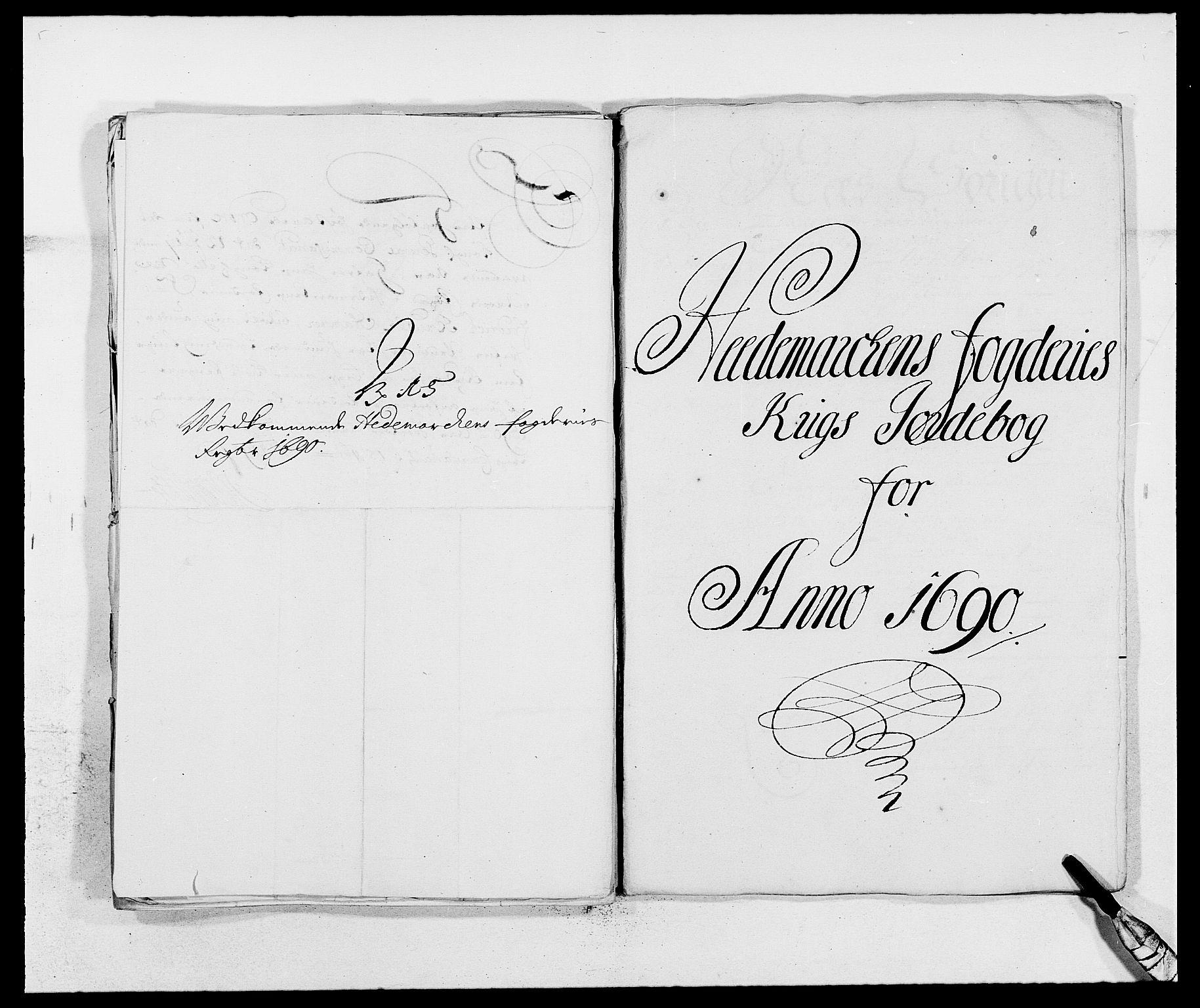 RA, Rentekammeret inntil 1814, Reviderte regnskaper, Fogderegnskap, R16/L1031: Fogderegnskap Hedmark, 1689-1692, s. 219
