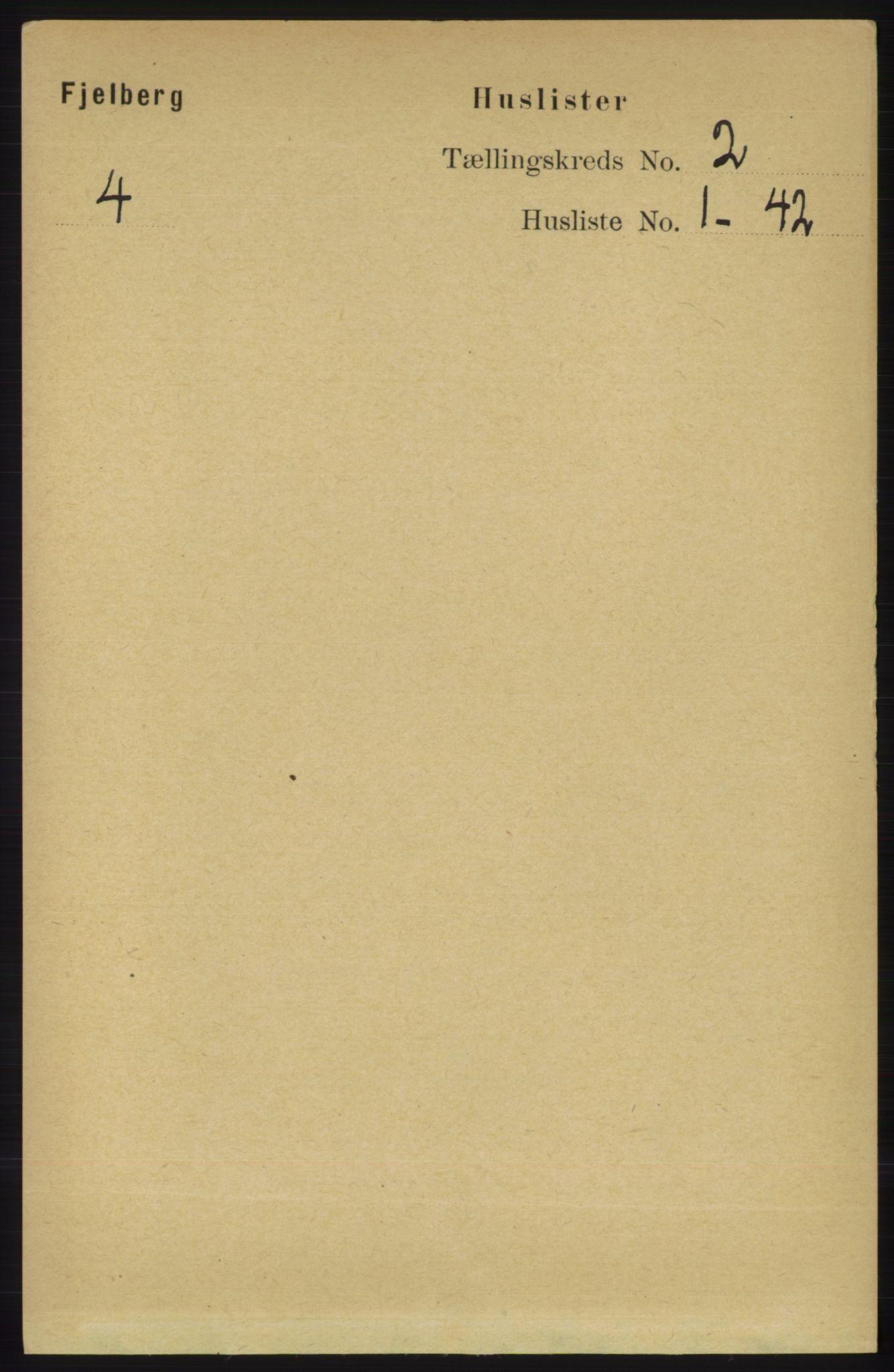 RA, Folketelling 1891 for 1213 Fjelberg herred, 1891, s. 458