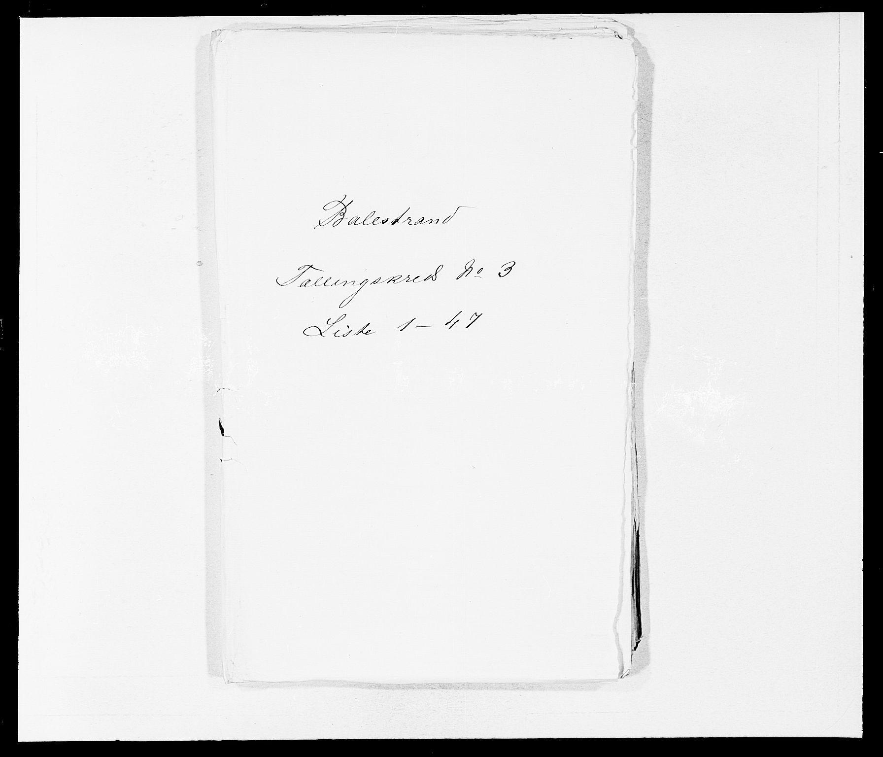 SAB, Folketelling 1875 for 1418P Balestrand prestegjeld, 1875, s. 356