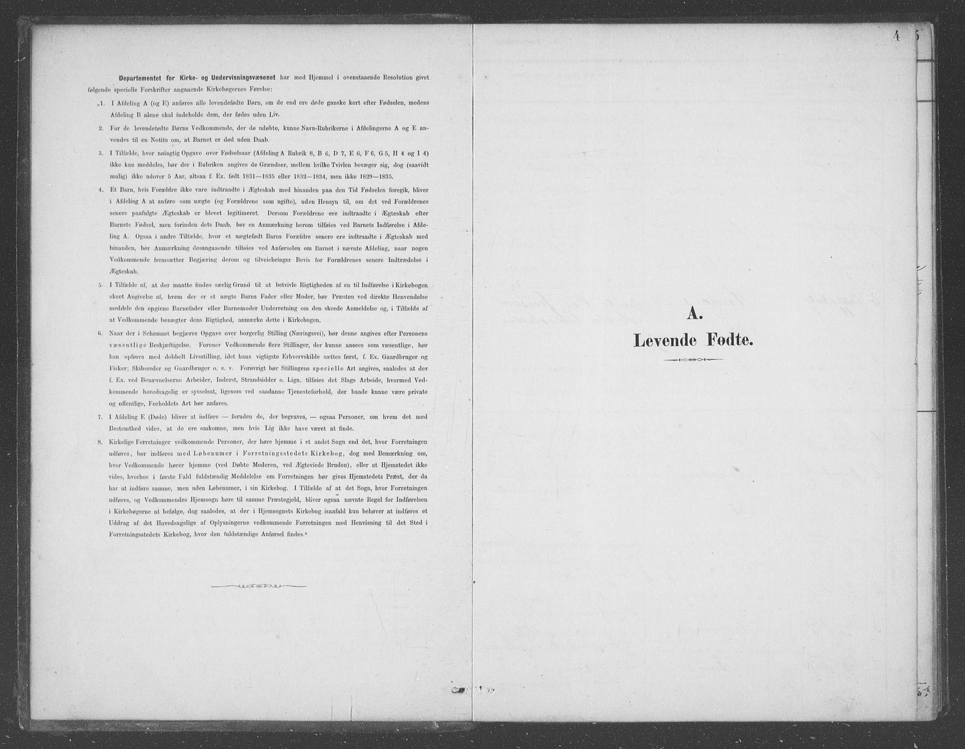 SAB, Aurland Sokneprestembete*, Ministerialbok nr. D  1, 1880-1903, s. 4