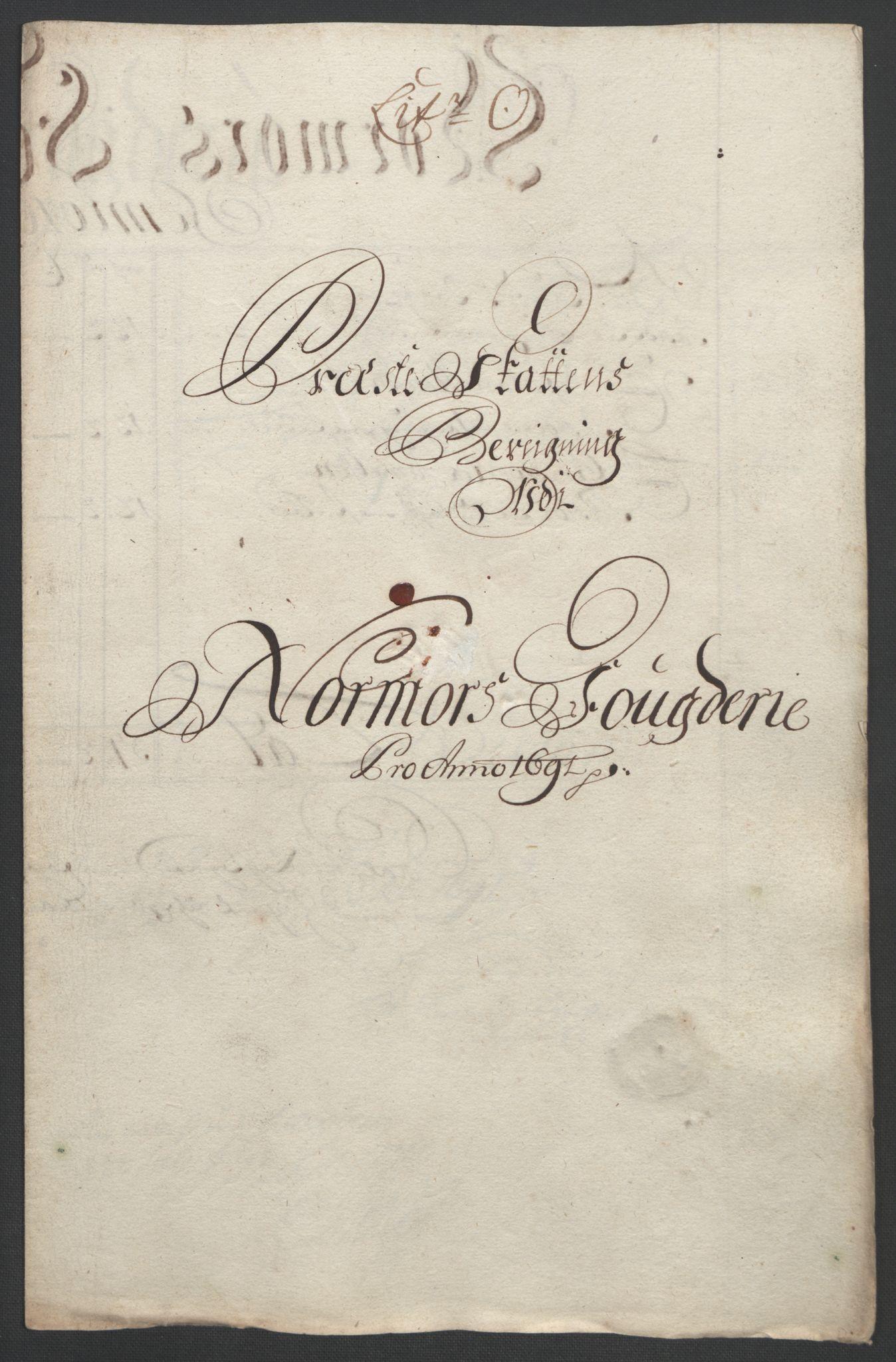RA, Rentekammeret inntil 1814, Reviderte regnskaper, Fogderegnskap, R56/L3734: Fogderegnskap Nordmøre, 1690-1691, s. 400