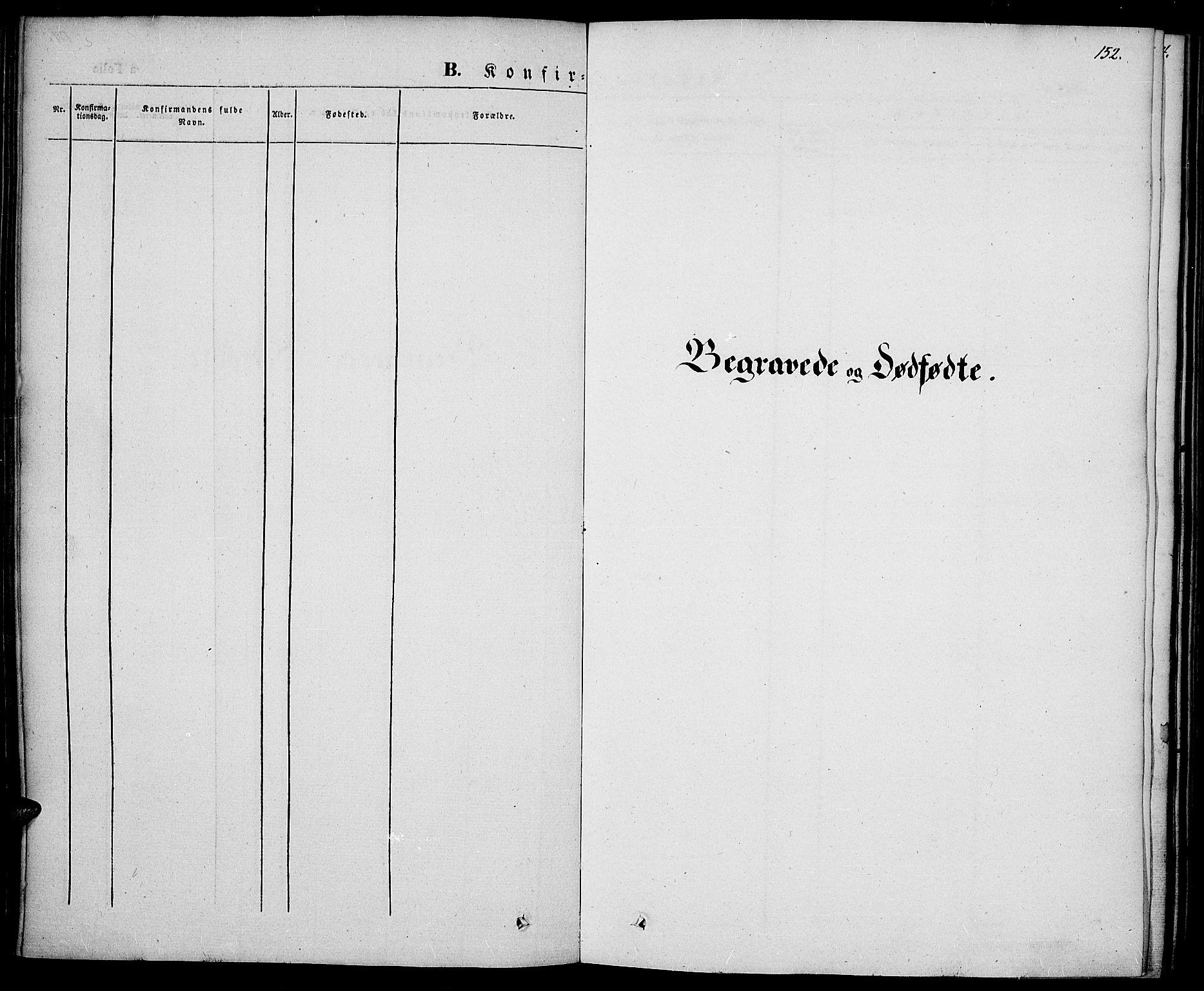 SAH, Vestre Toten prestekontor, Ministerialbok nr. 4, 1844-1849, s. 152