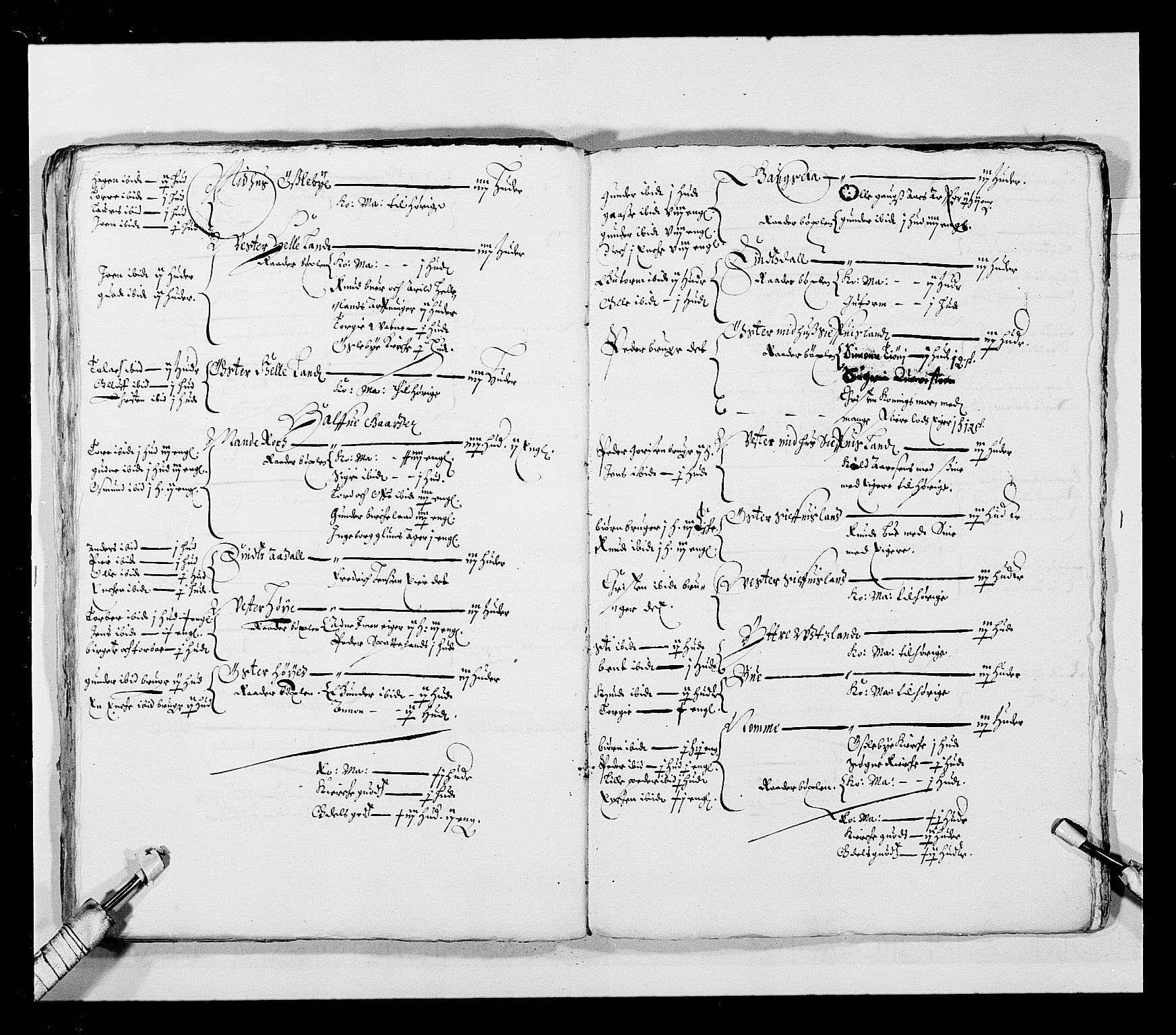 RA, Stattholderembetet 1572-1771, Ek/L0023: Jordebøker 1633-1658:, 1648-1649, s. 61