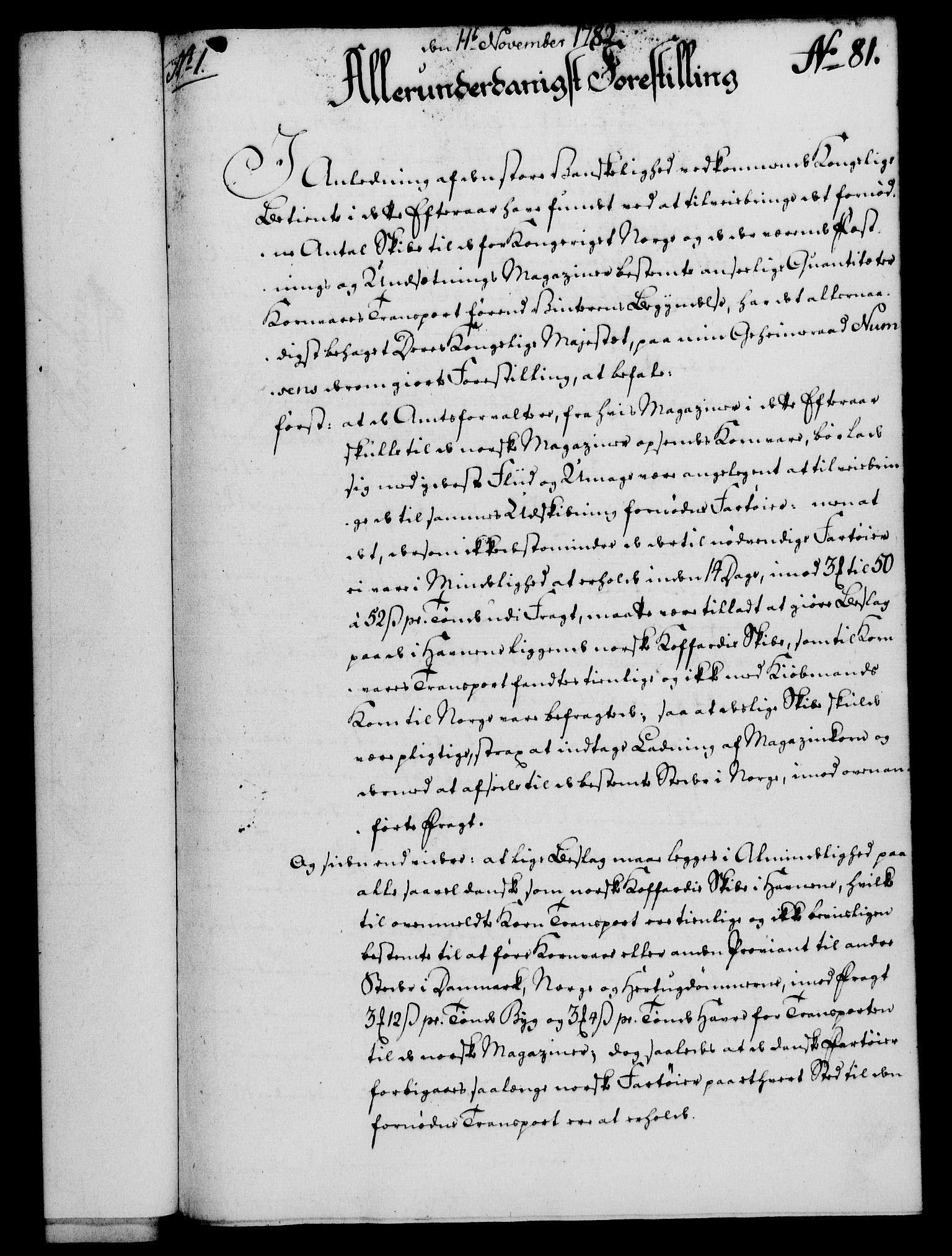 RA, Rentekammeret, Kammerkanselliet, G/Gf/Gfa/L0064: Norsk relasjons- og resolusjonsprotokoll (merket RK 52.64), 1782, s. 632