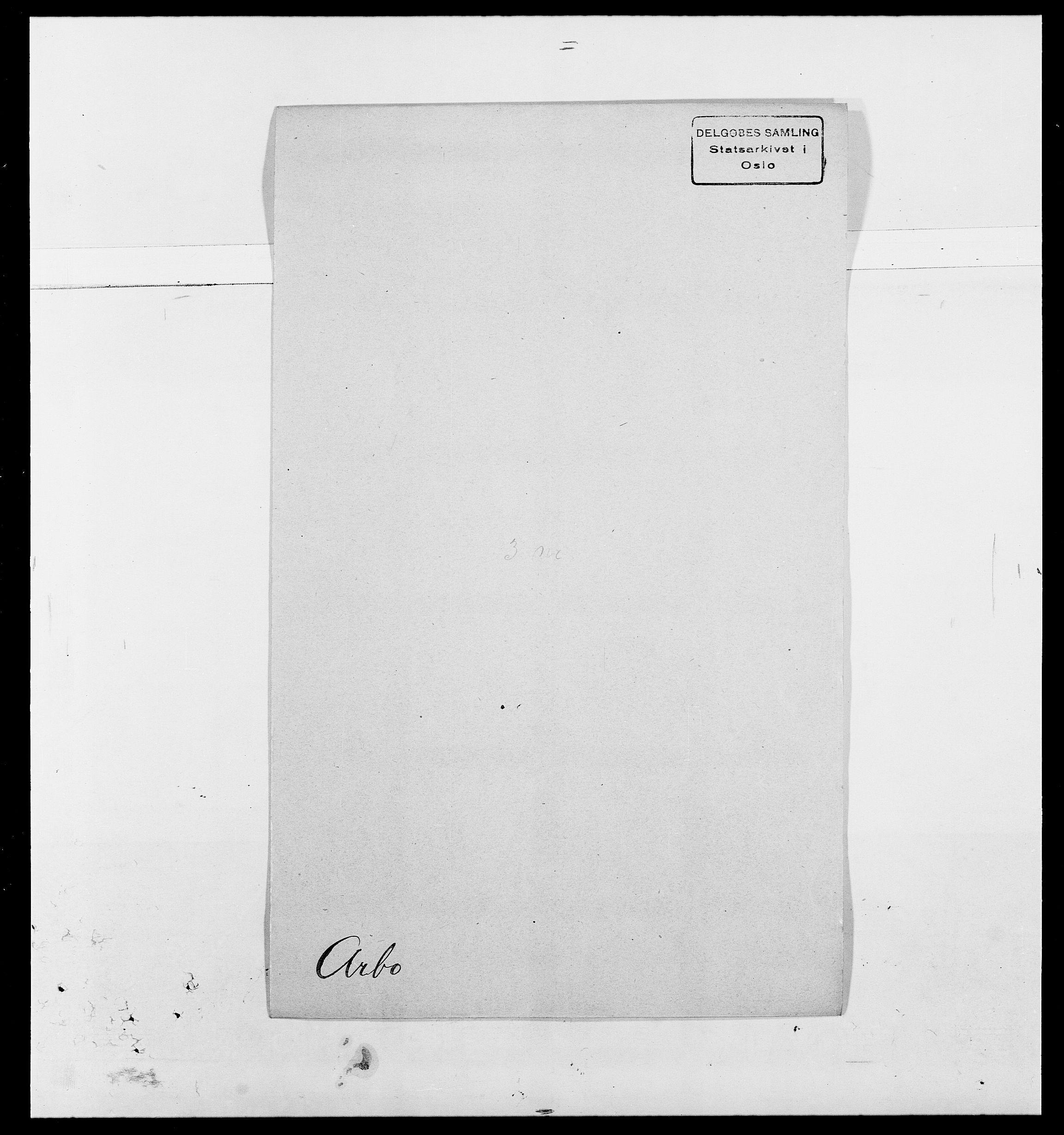 SAO, Delgobe, Charles Antoine - samling, D/Da/L0002: Anker, Ancher - Bauner, s. 220