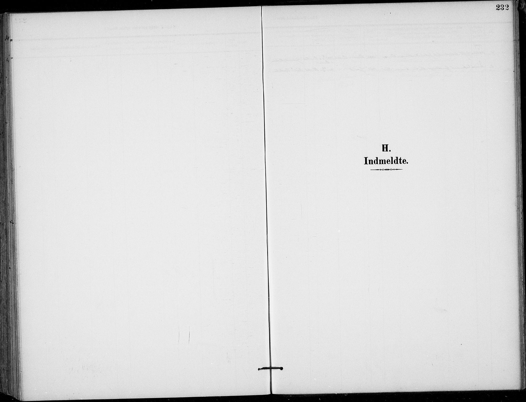 SAKO, Siljan kirkebøker, F/Fa/L0003: Ministerialbok nr. 3, 1896-1910, s. 232