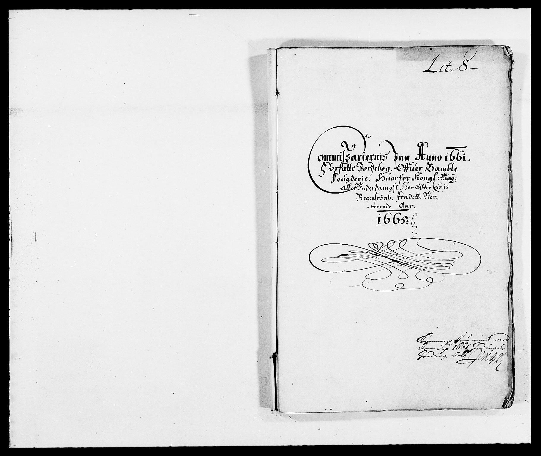RA, Rentekammeret inntil 1814, Reviderte regnskaper, Fogderegnskap, R34/L2038: Fogderegnskap Bamble, 1662-1669, s. 271