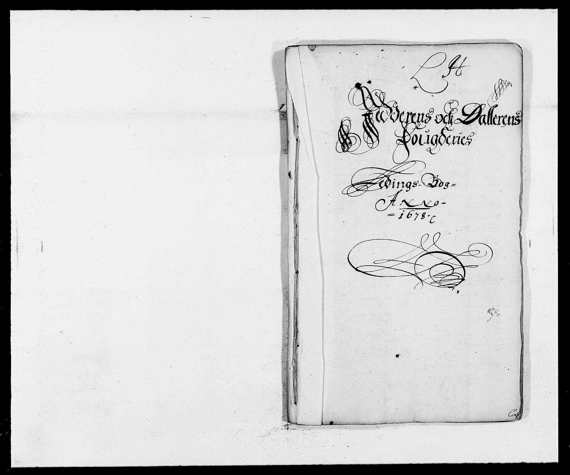 RA, Rentekammeret inntil 1814, Reviderte regnskaper, Fogderegnskap, R46/L2718: Fogderegnskap Jæren og Dalane, 1678, s. 239