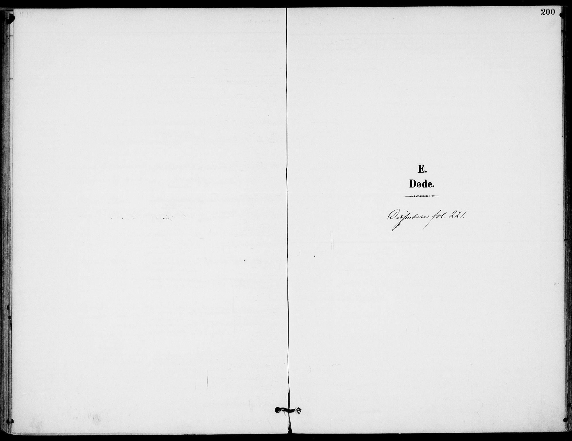 SAKO, Drangedal kirkebøker, F/Fa/L0012: Ministerialbok nr. 12, 1895-1905, s. 200