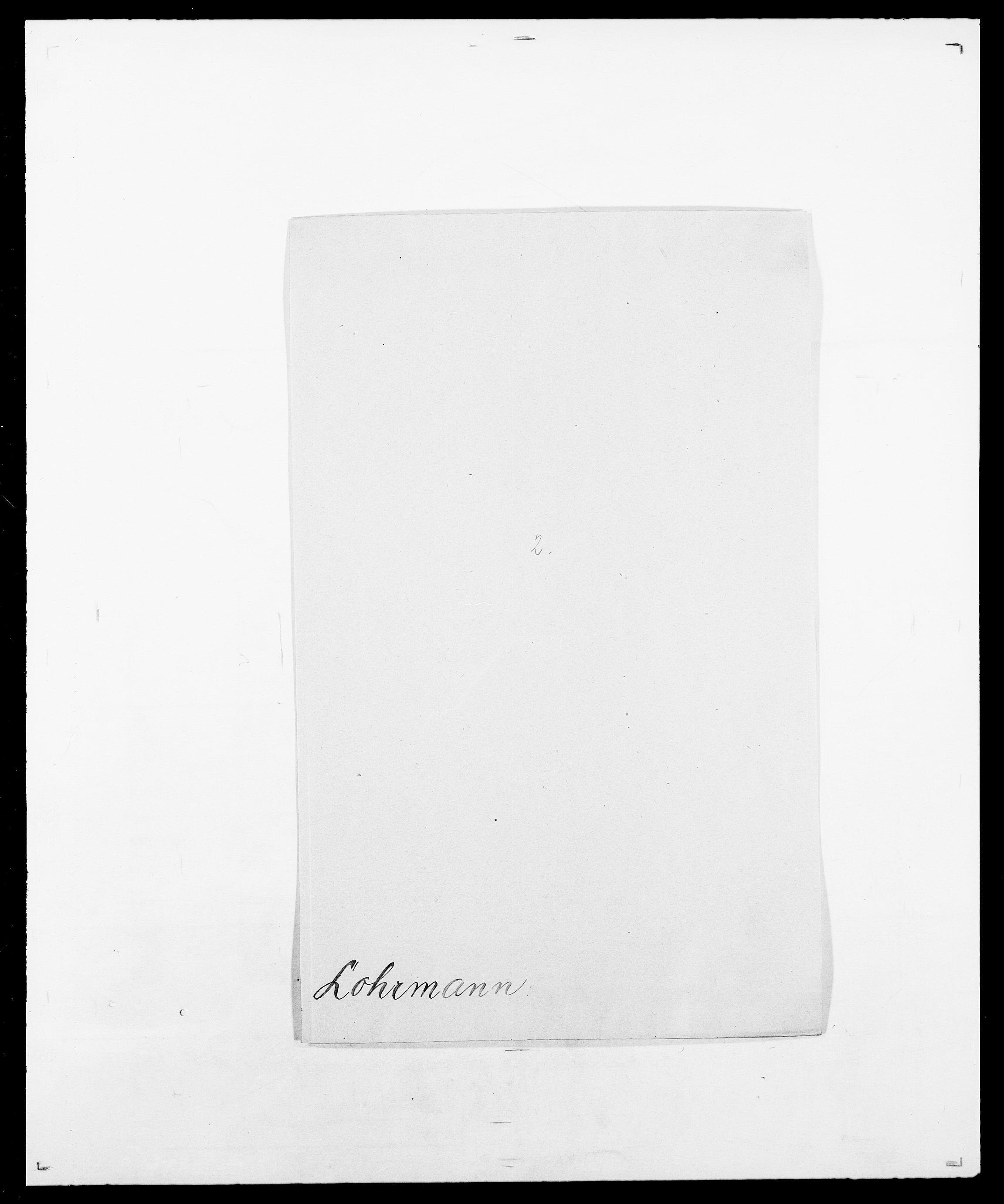 SAO, Delgobe, Charles Antoine - samling, D/Da/L0024: Lobech - Lærum, s. 95
