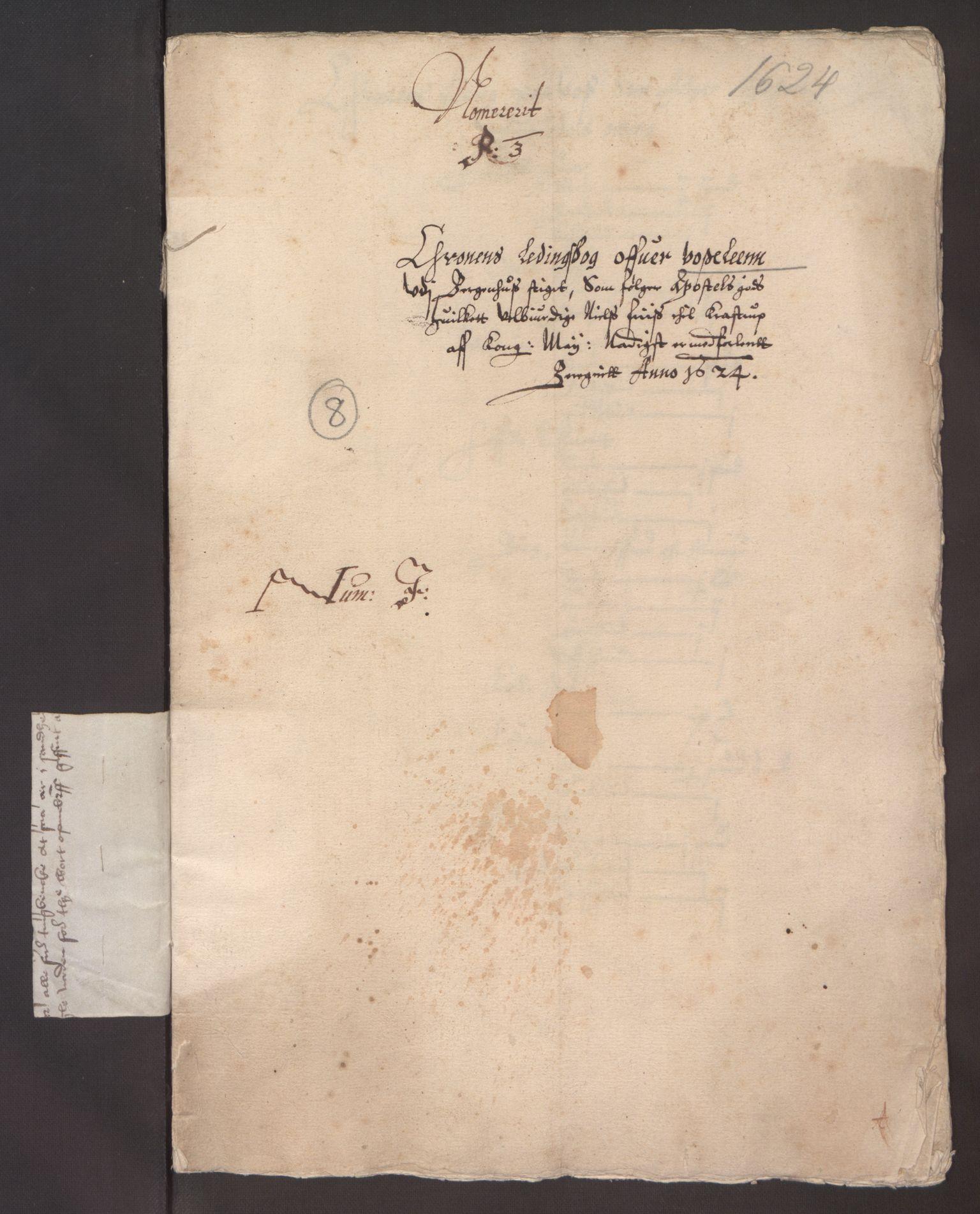 RA, Stattholderembetet 1572-1771, Ek/L0003: Jordebøker til utlikning av garnisonsskatt 1624-1626:, 1624-1625, s. 216