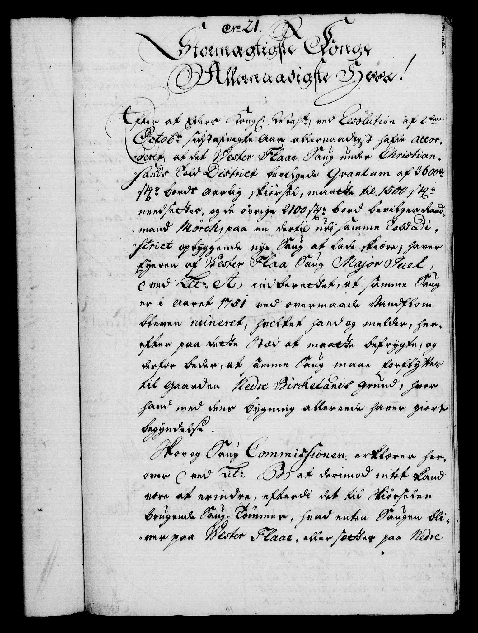 RA, Rentekammeret, Kammerkanselliet, G/Gf/Gfa/L0035: Norsk relasjons- og resolusjonsprotokoll (merket RK 52.35), 1753, s. 127
