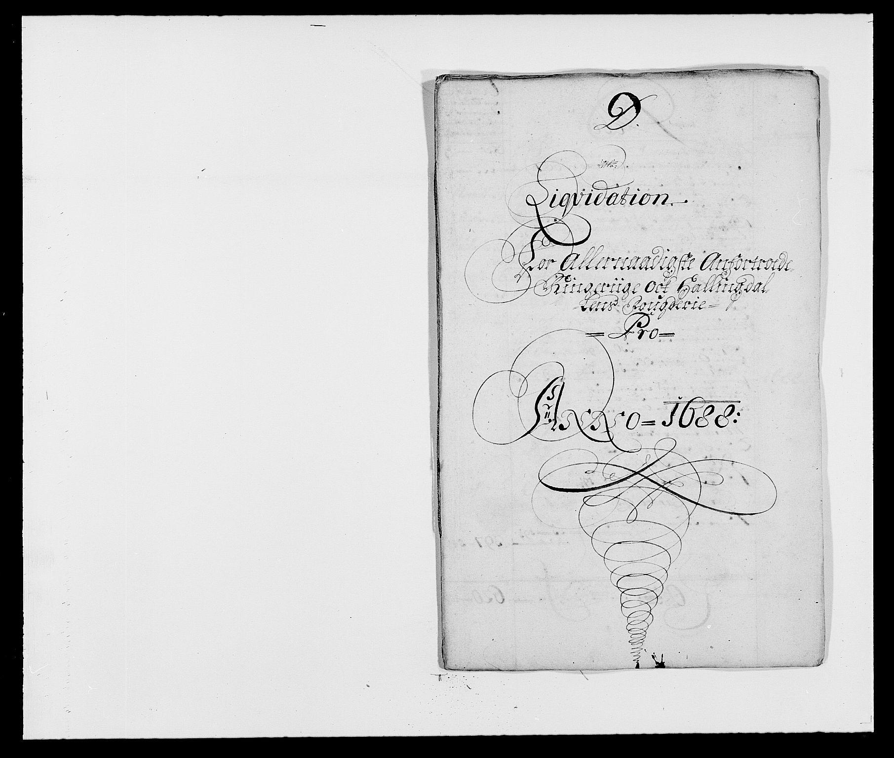 RA, Rentekammeret inntil 1814, Reviderte regnskaper, Fogderegnskap, R21/L1447: Fogderegnskap Ringerike og Hallingdal, 1687-1689, s. 123