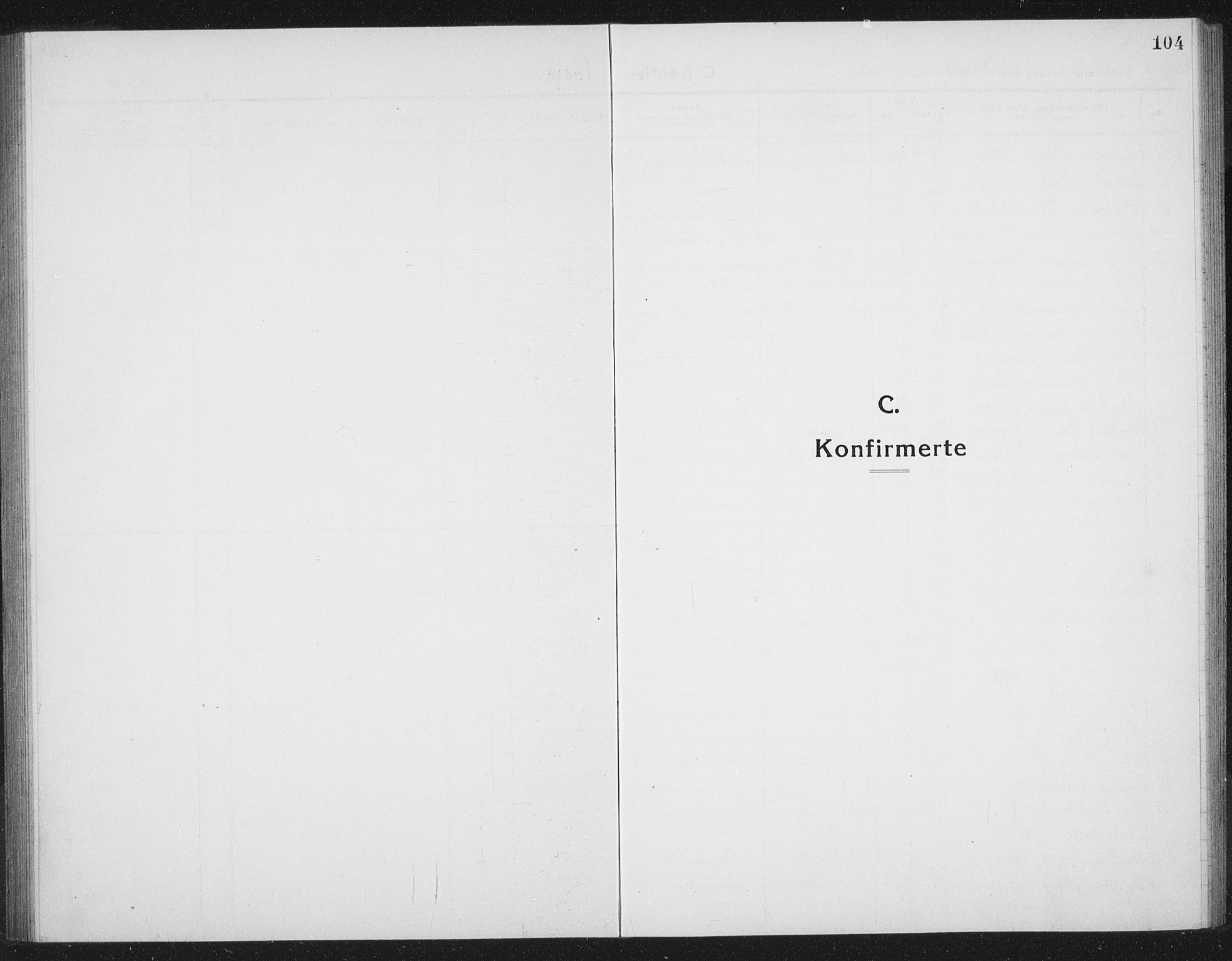SAT, Ministerialprotokoller, klokkerbøker og fødselsregistre - Sør-Trøndelag, 665/L0778: Klokkerbok nr. 665C03, 1916-1938, s. 104