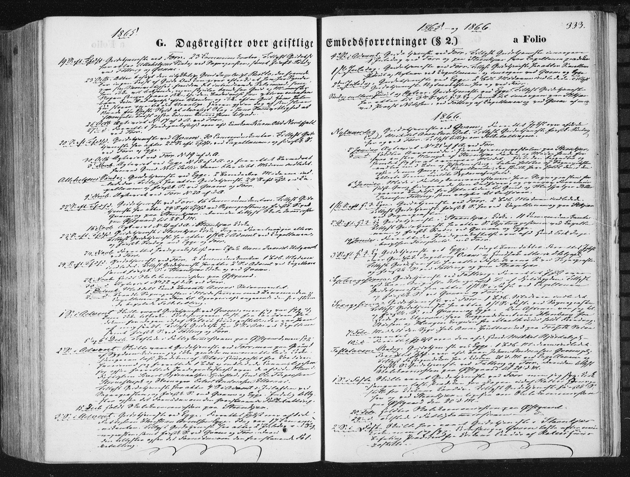 SAT, Ministerialprotokoller, klokkerbøker og fødselsregistre - Nord-Trøndelag, 746/L0447: Ministerialbok nr. 746A06, 1860-1877, s. 333