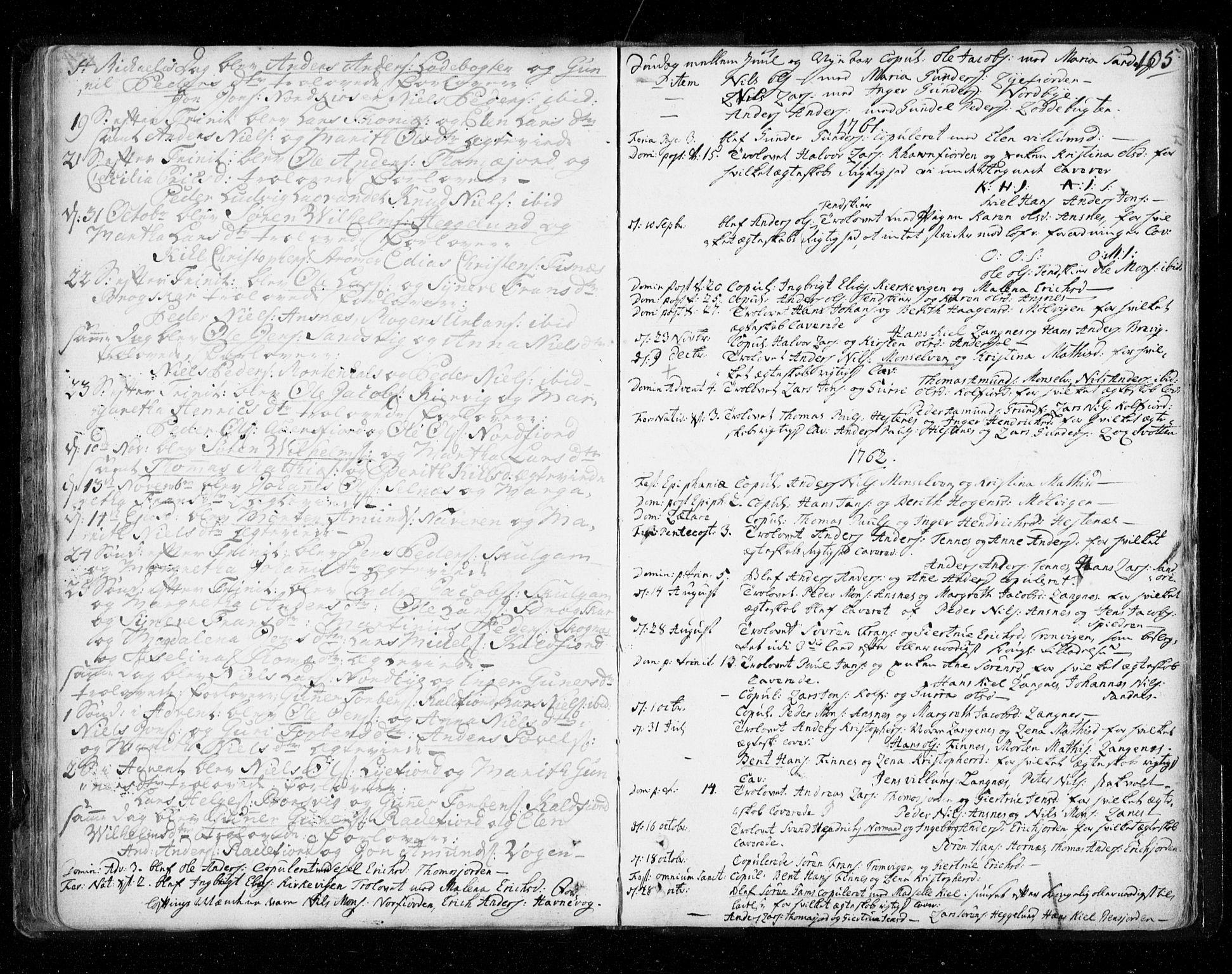 SATØ, Tromsø sokneprestkontor/stiftsprosti/domprosti, G/Ga/L0002kirke: Ministerialbok nr. 2, 1753-1778, s. 105