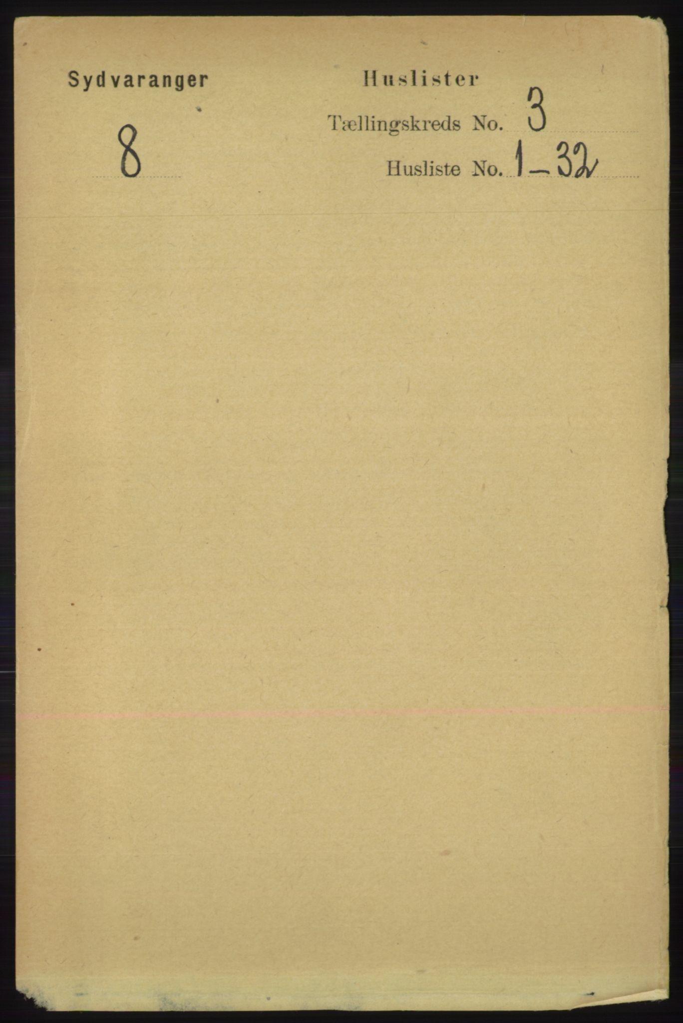 RA, Folketelling 1891 for 2030 Sør-Varanger herred, 1891, s. 747