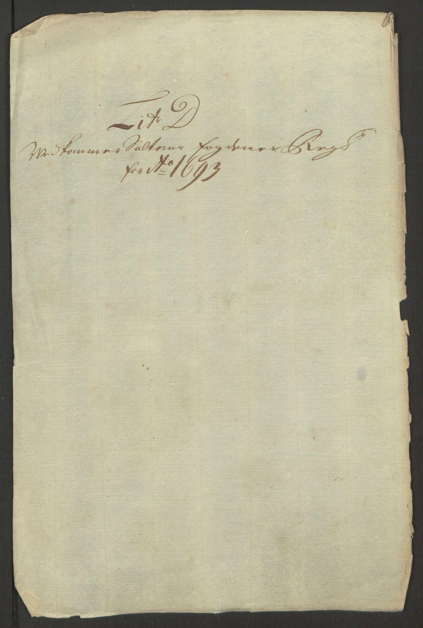 RA, Rentekammeret inntil 1814, Reviderte regnskaper, Fogderegnskap, R66/L4577: Fogderegnskap Salten, 1691-1693, s. 321
