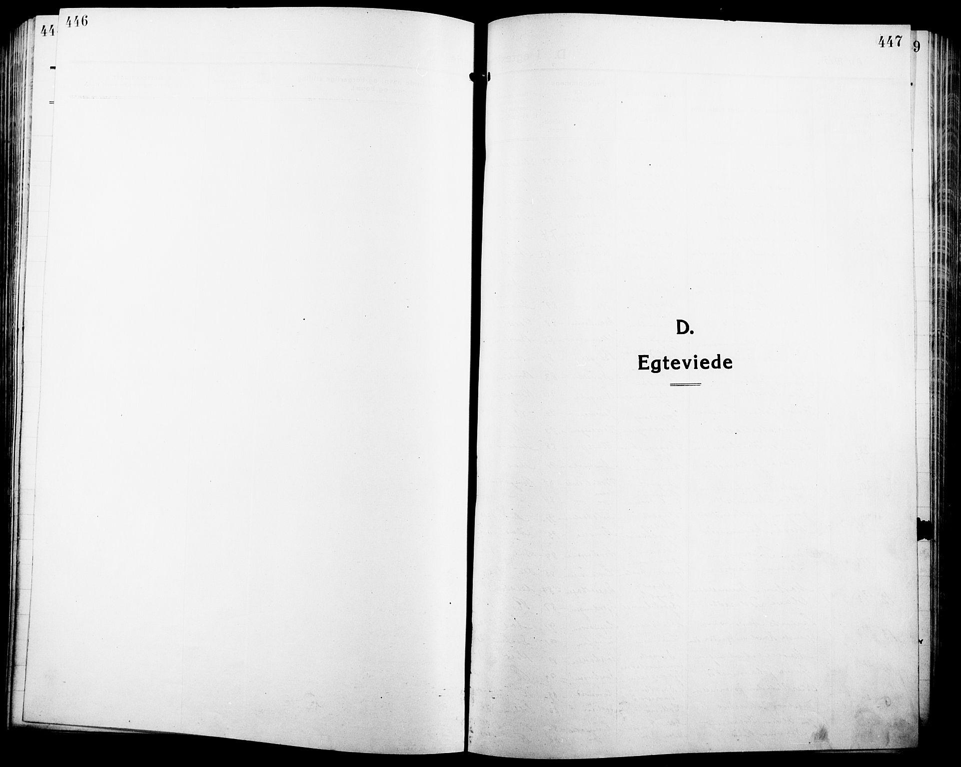 SAH, Ringsaker prestekontor, L/La/L0018: Klokkerbok nr. 18, 1913-1922, s. 446-447