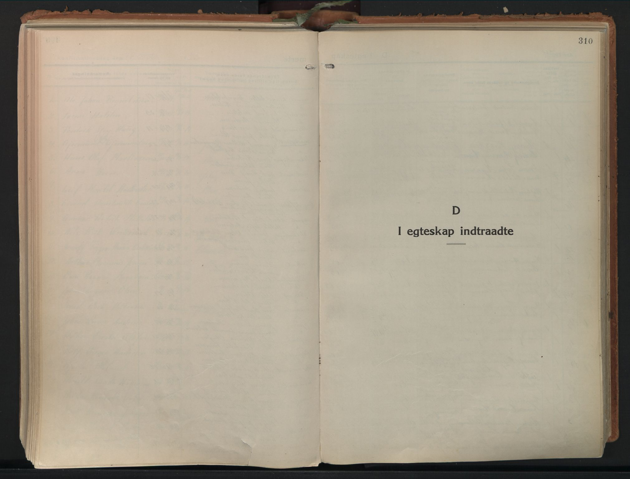 SAO, Moss prestekontor Kirkebøker, F/Fb/Fab/L0006: Ministerialbok nr. II 6, 1924-1932, s. 310