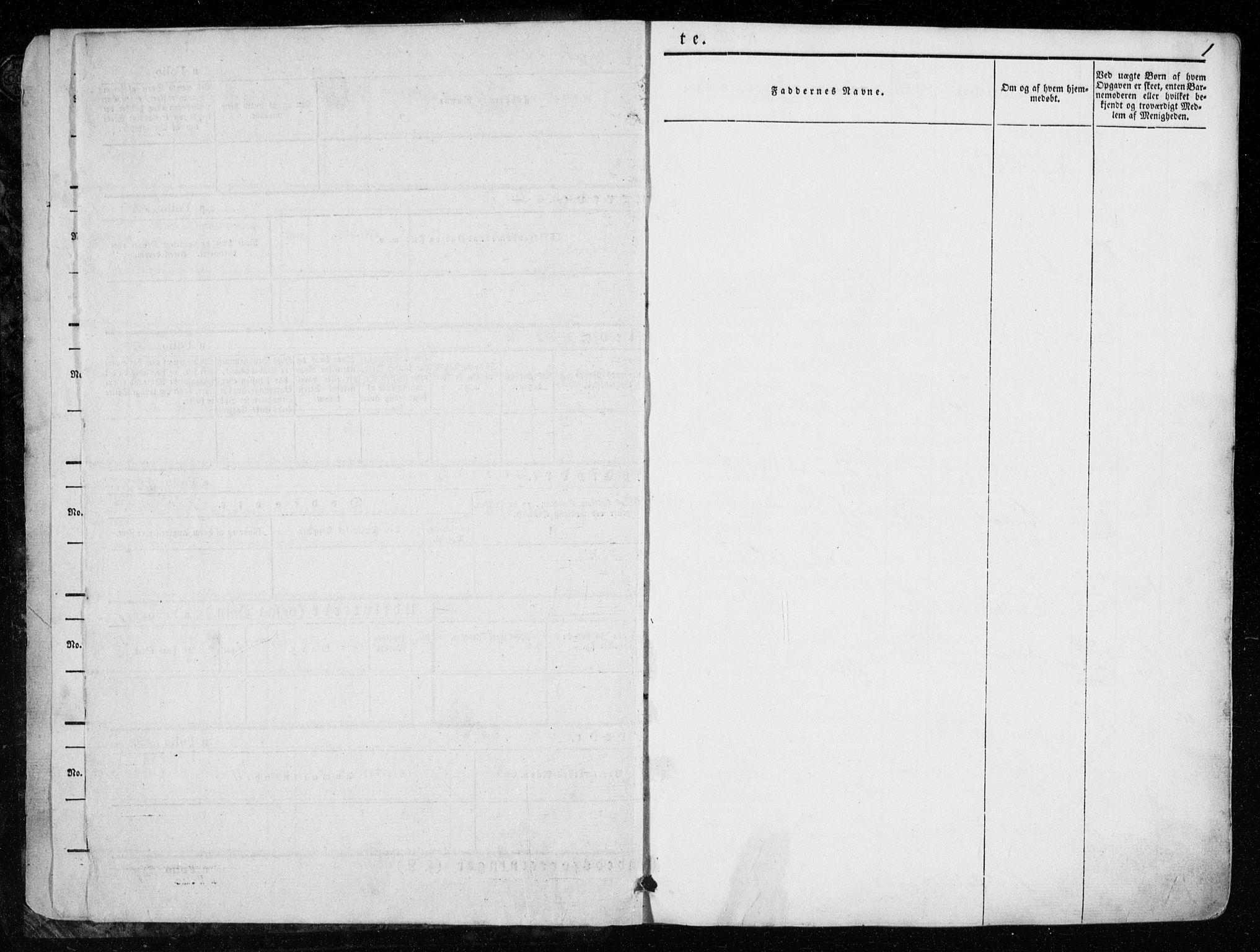 SAT, Ministerialprotokoller, klokkerbøker og fødselsregistre - Nord-Trøndelag, 723/L0239: Ministerialbok nr. 723A08, 1841-1851, s. 1
