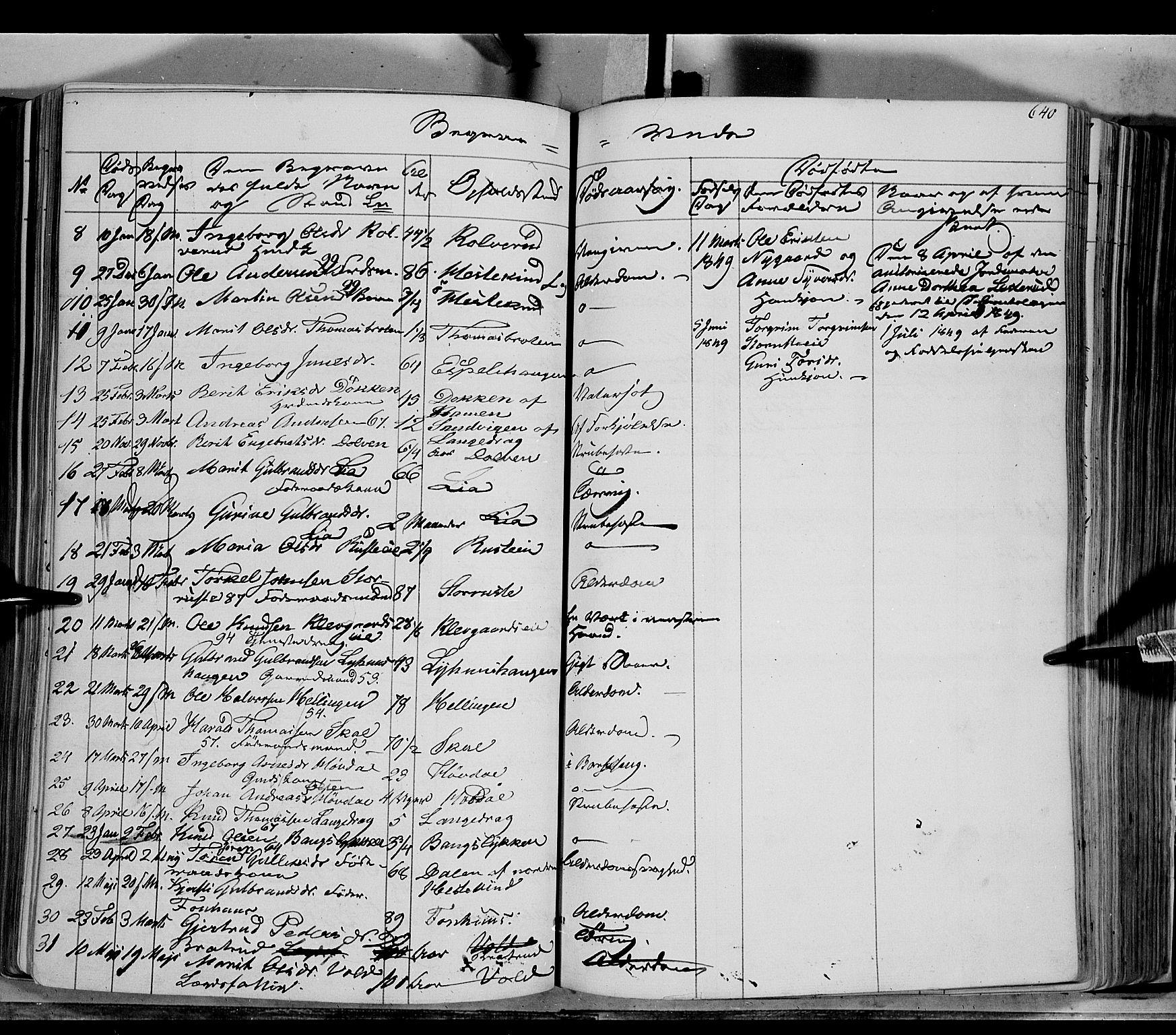 SAH, Sør-Aurdal prestekontor, Ministerialbok nr. 4, 1841-1849, s. 639-640