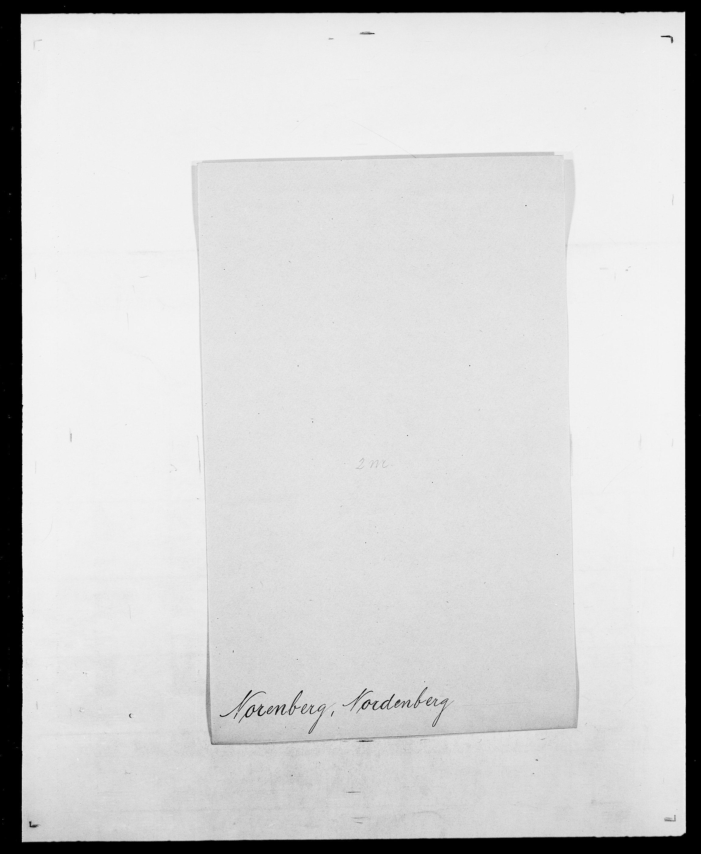 SAO, Delgobe, Charles Antoine - samling, D/Da/L0028: Naaden - Nøvik, s. 455