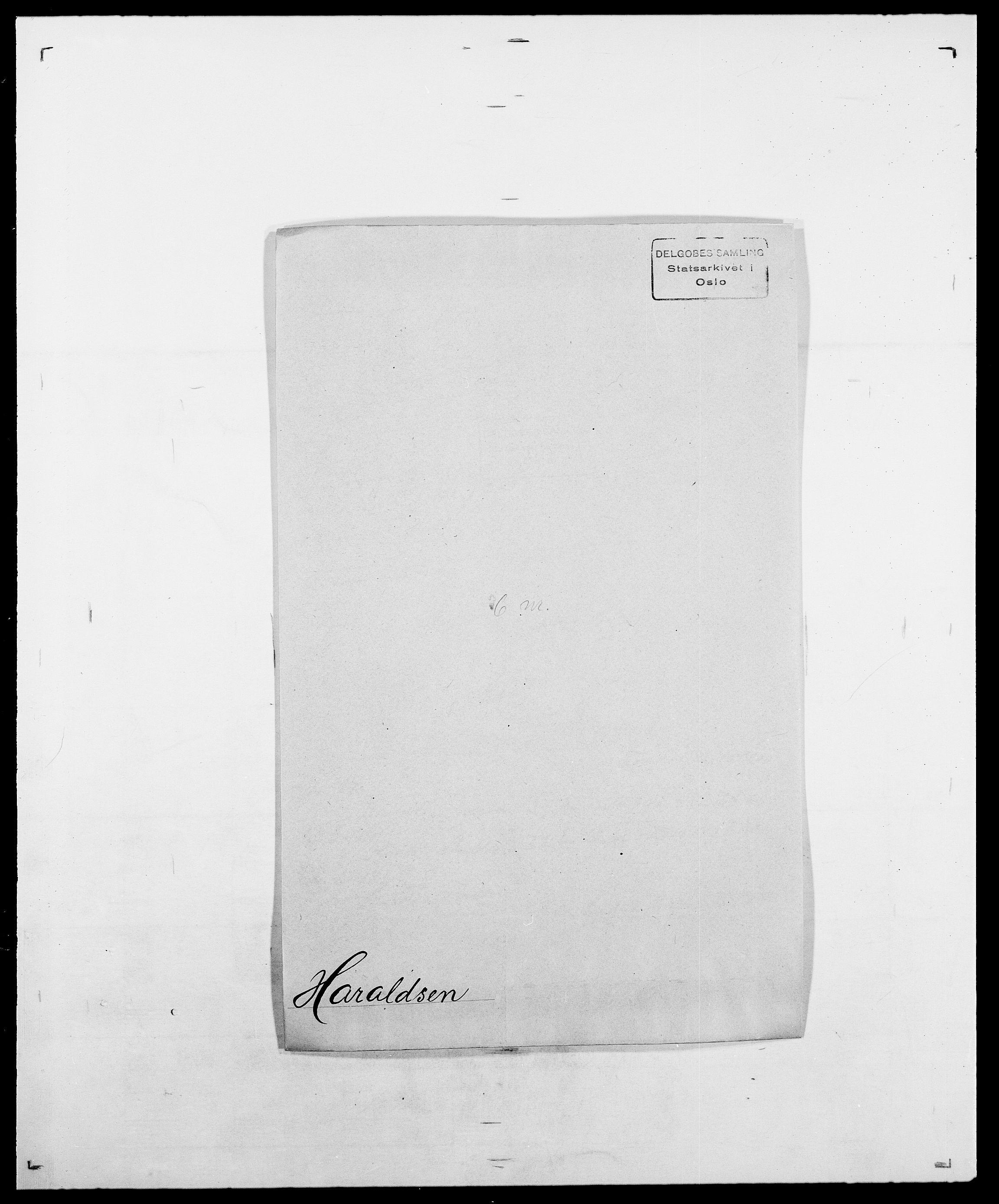 SAO, Delgobe, Charles Antoine - samling, D/Da/L0016: Hamborg - Hektoen, s. 366