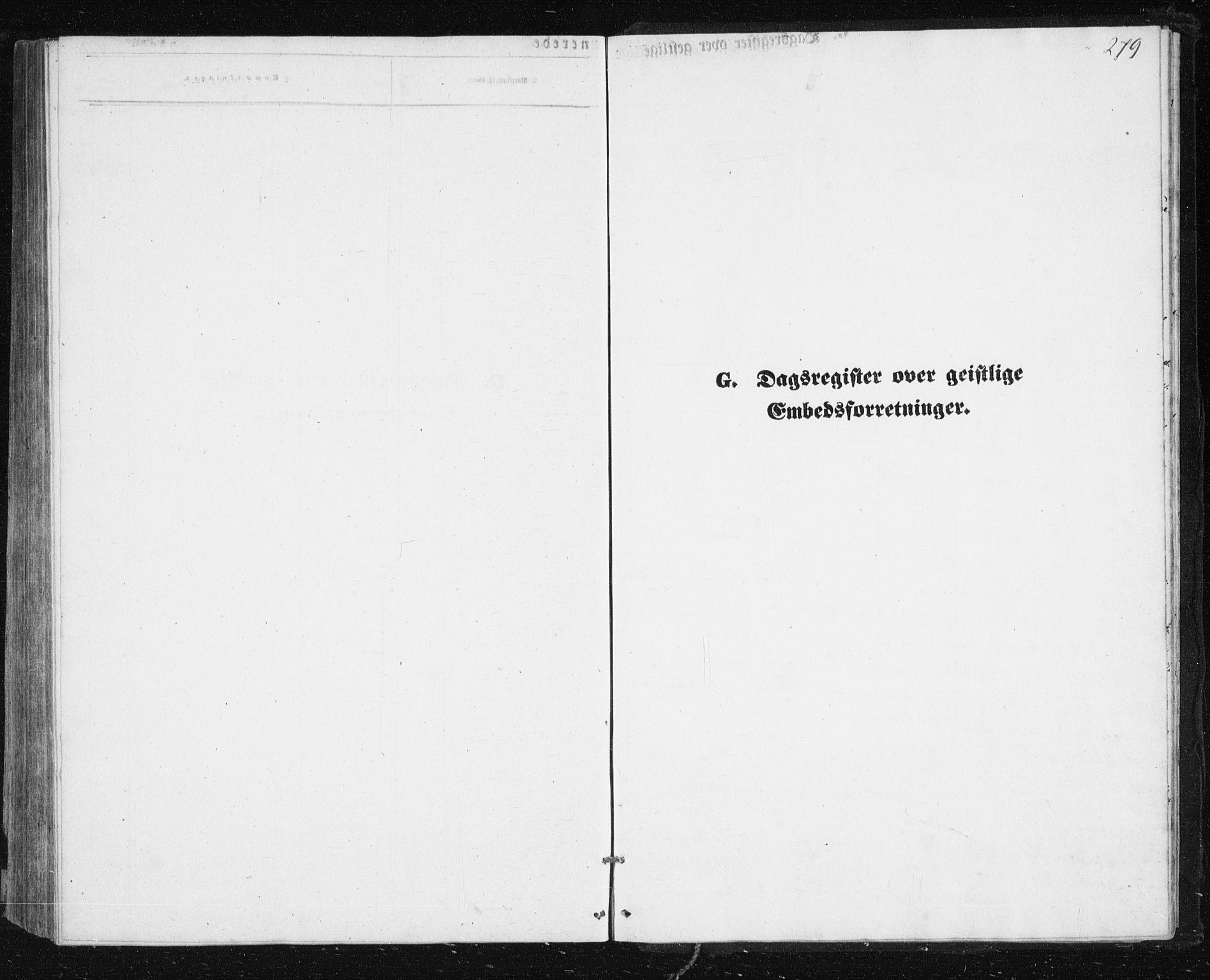 SATØ, Lenvik sokneprestembete, H/Ha: Klokkerbok nr. 4, 1859-1869, s. 279