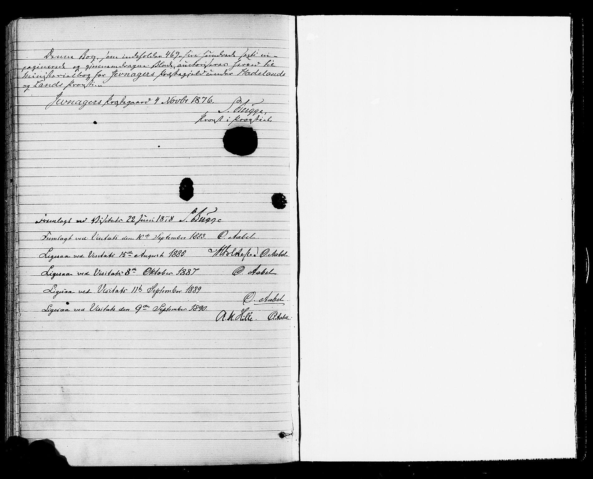 SAH, Jevnaker prestekontor, Ministerialbok nr. 8, 1877-1890