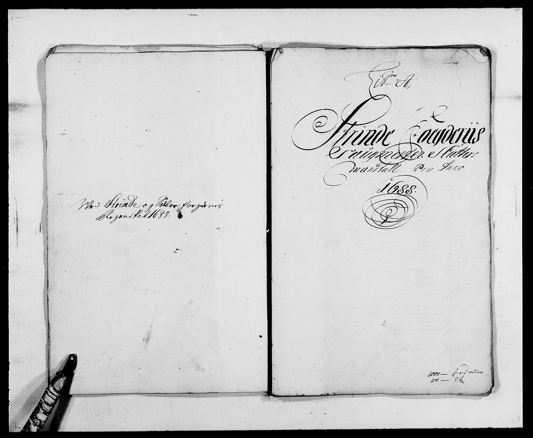 RA, Rentekammeret inntil 1814, Reviderte regnskaper, Fogderegnskap, R61/L4101: Fogderegnskap Strinda og Selbu, 1687-1688, s. 164