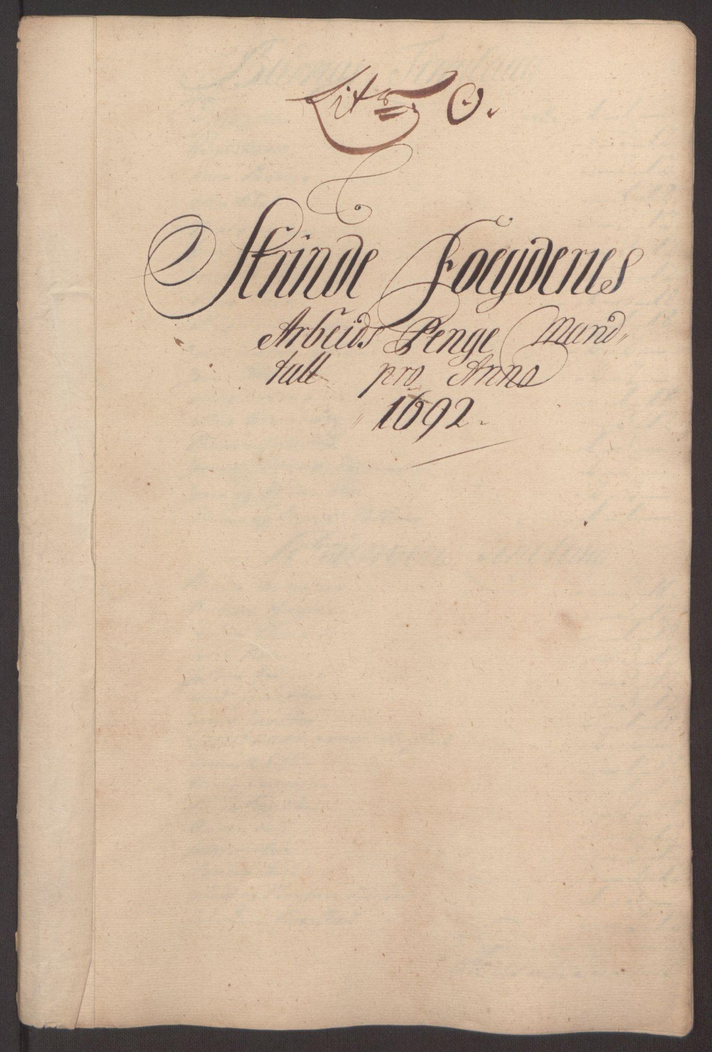 RA, Rentekammeret inntil 1814, Reviderte regnskaper, Fogderegnskap, R61/L4103: Fogderegnskap Strinda og Selbu, 1691-1692, s. 366