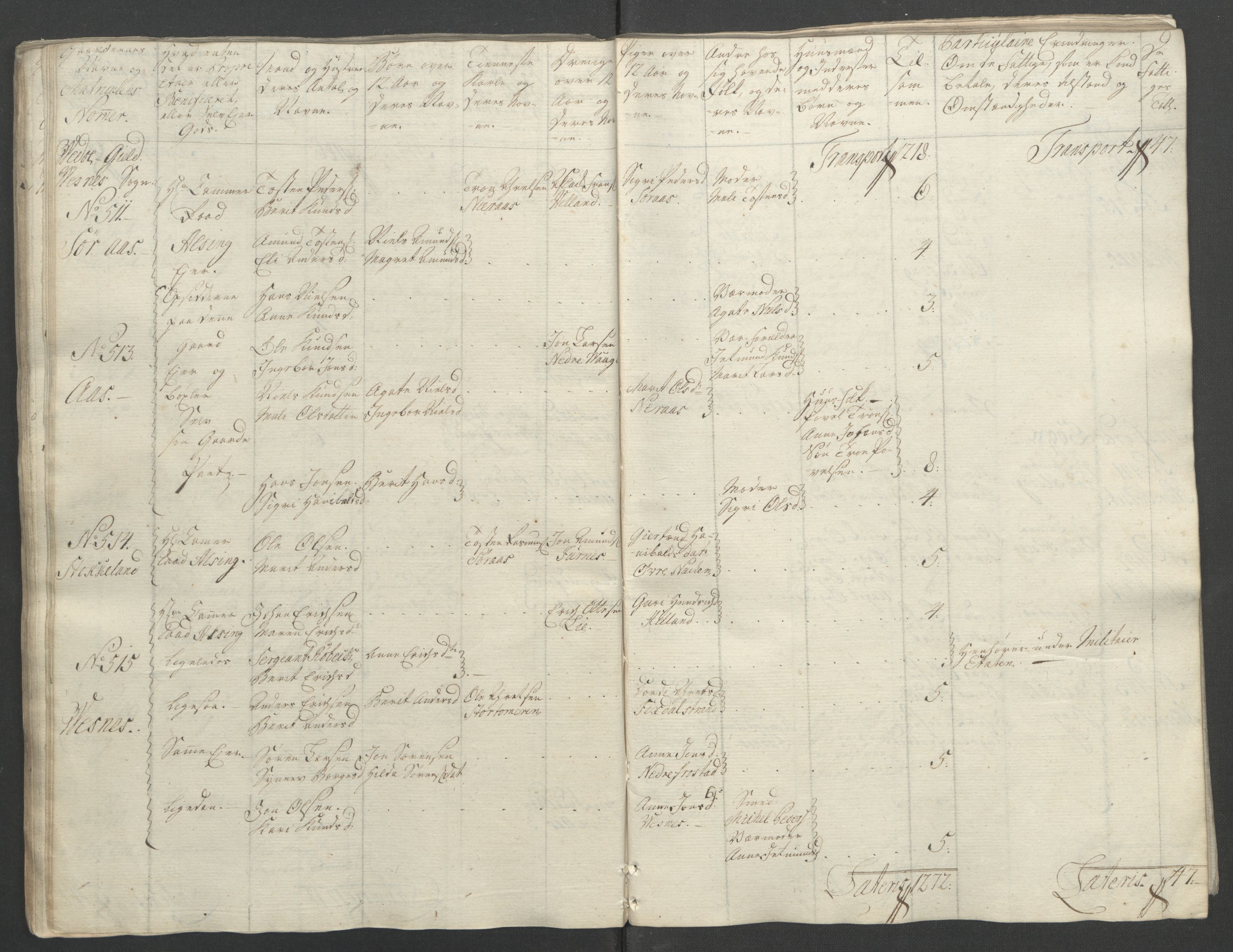 RA, Rentekammeret inntil 1814, Reviderte regnskaper, Fogderegnskap, R55/L3730: Ekstraskatten Romsdal, 1762-1763, s. 99