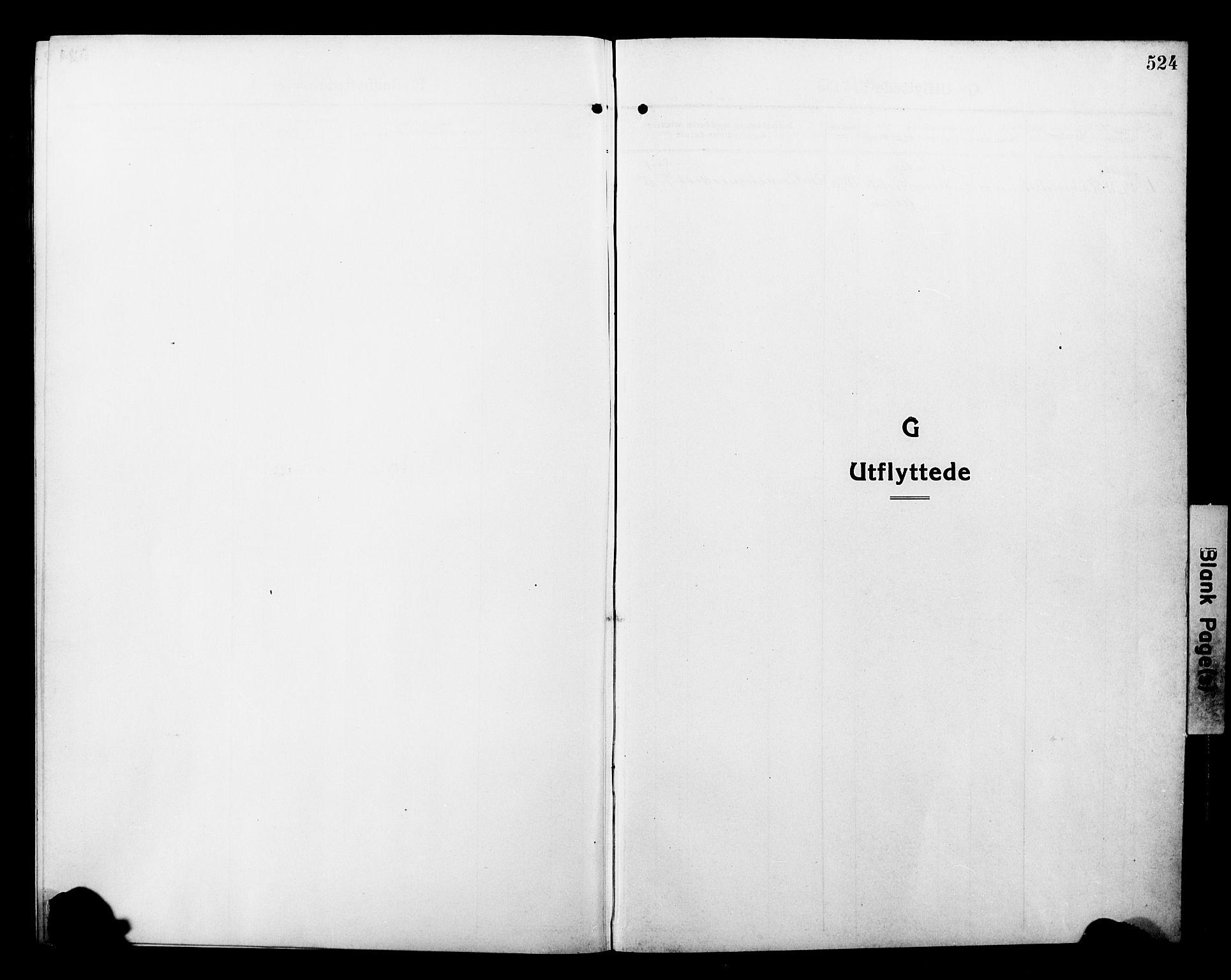 SATØ, Tromsø sokneprestkontor/stiftsprosti/domprosti, G/Gb/L0009klokker: Klokkerbok nr. 9, 1915-1925, s. 524