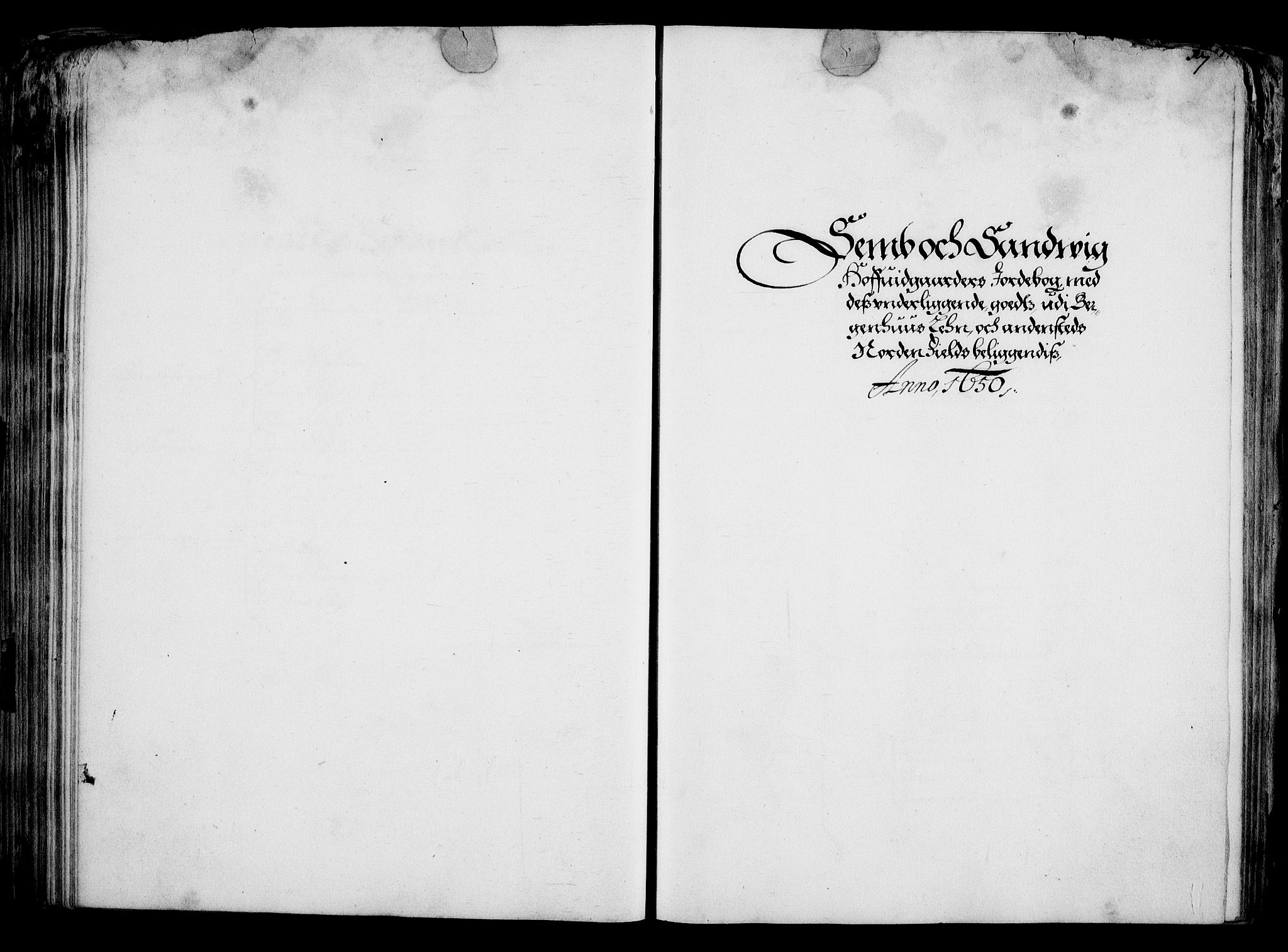 RA, Rentekammeret inntil 1814, Realistisk ordnet avdeling, On/L0001: Statens gods, 1651, s. 184