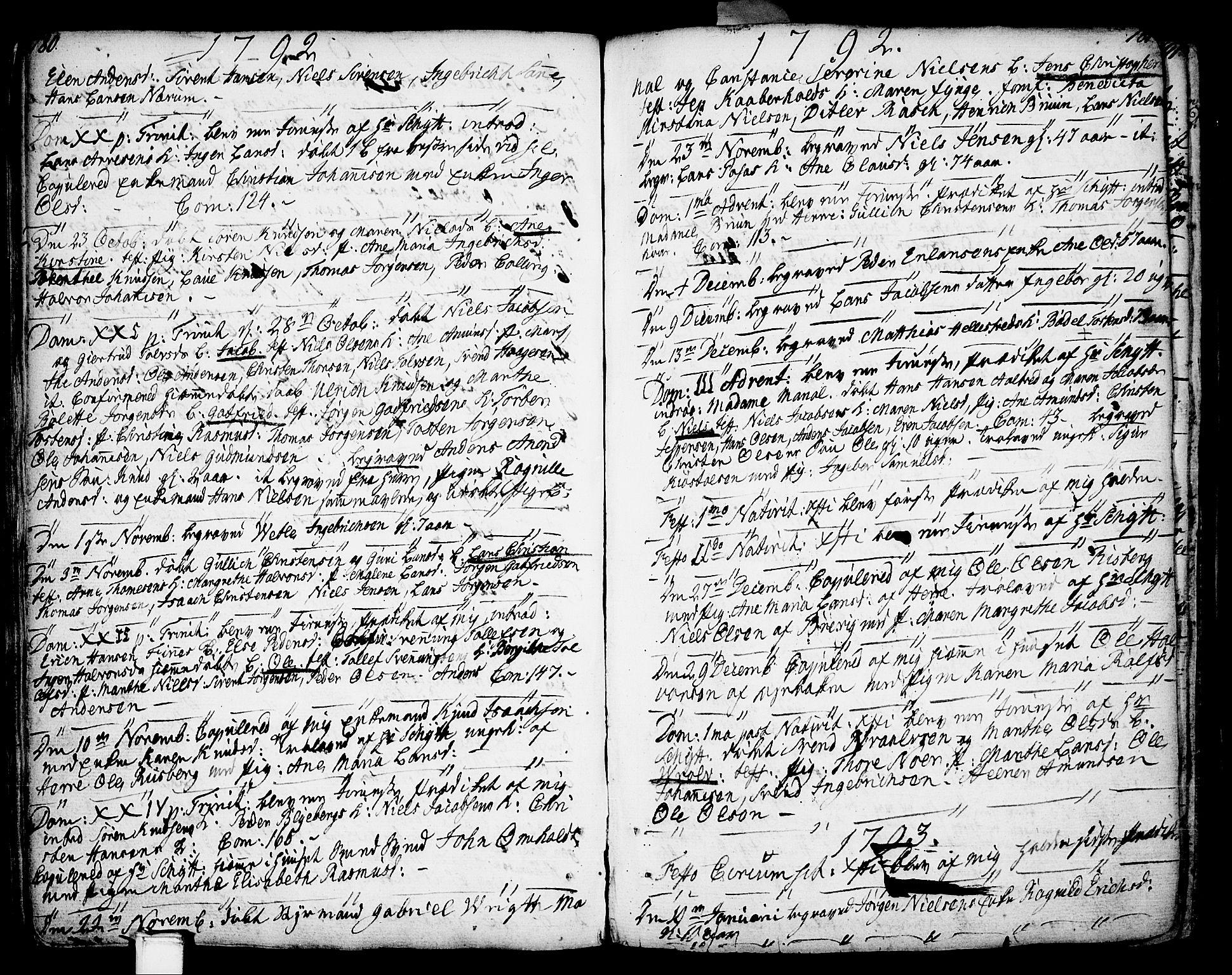 SAKO, Porsgrunn kirkebøker , F/Fa/L0002: Ministerialbok nr. 2, 1764-1814, s. 180-181