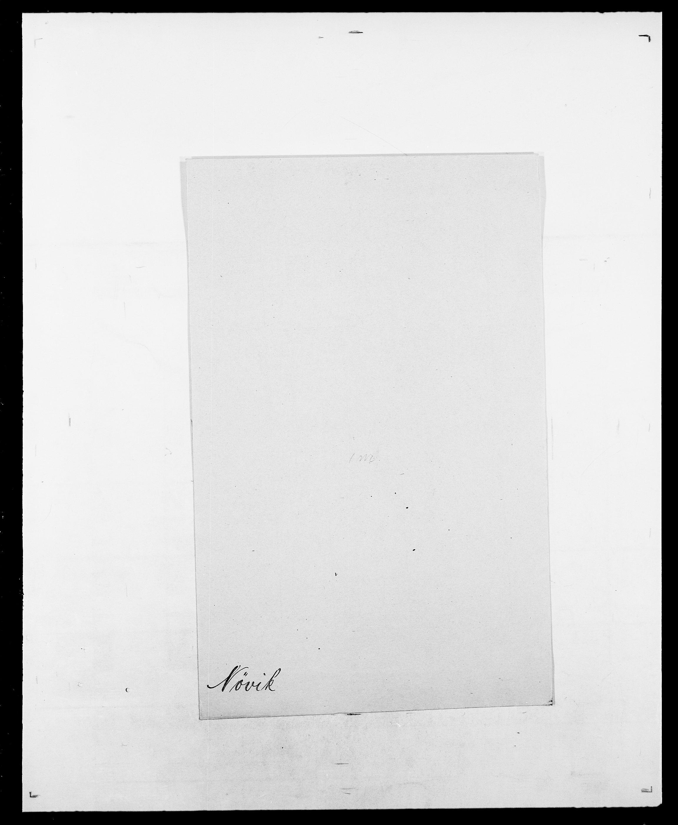 SAO, Delgobe, Charles Antoine - samling, D/Da/L0028: Naaden - Nøvik, s. 666