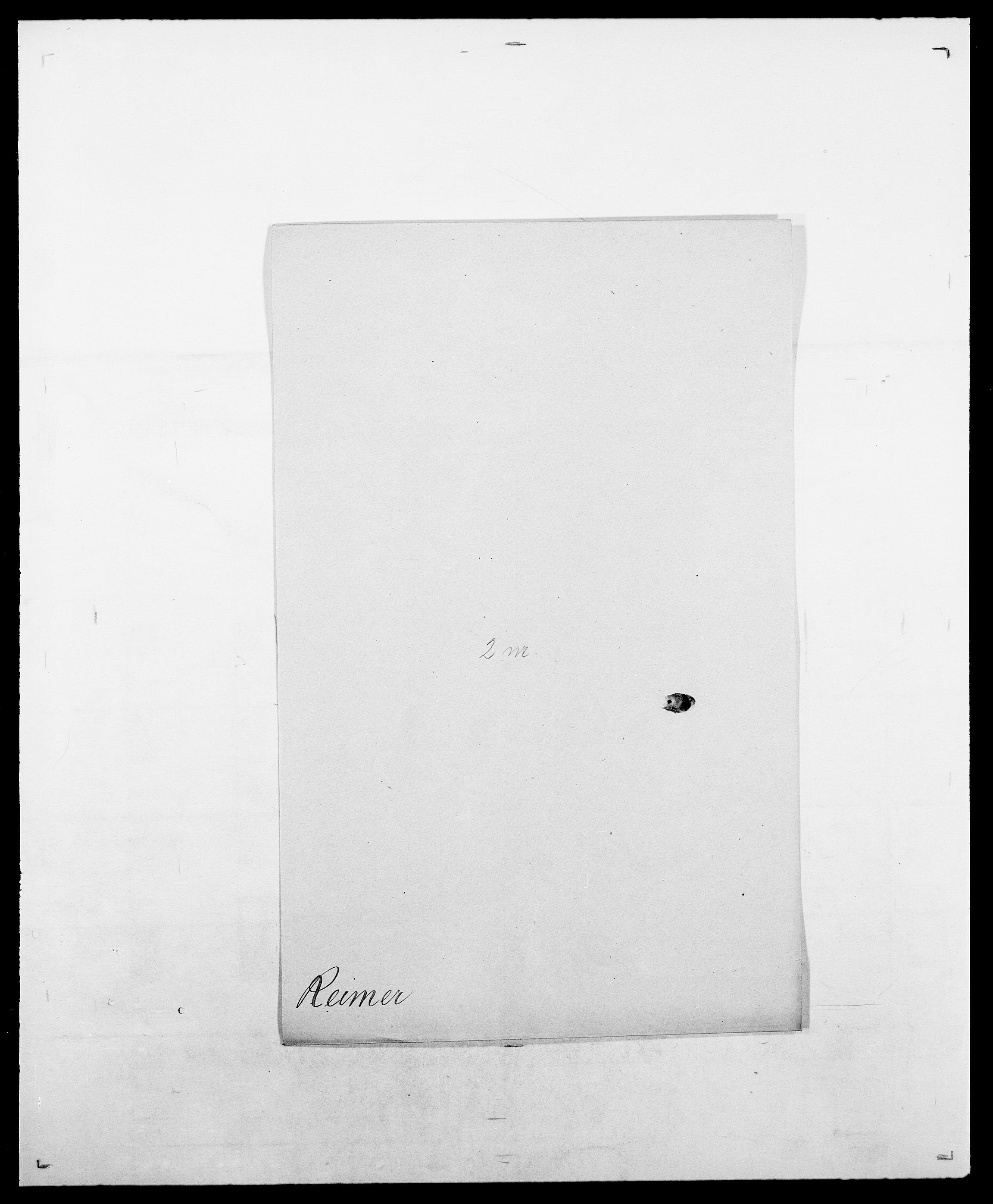 SAO, Delgobe, Charles Antoine - samling, D/Da/L0032: Rabakovsky - Rivertz, s. 320
