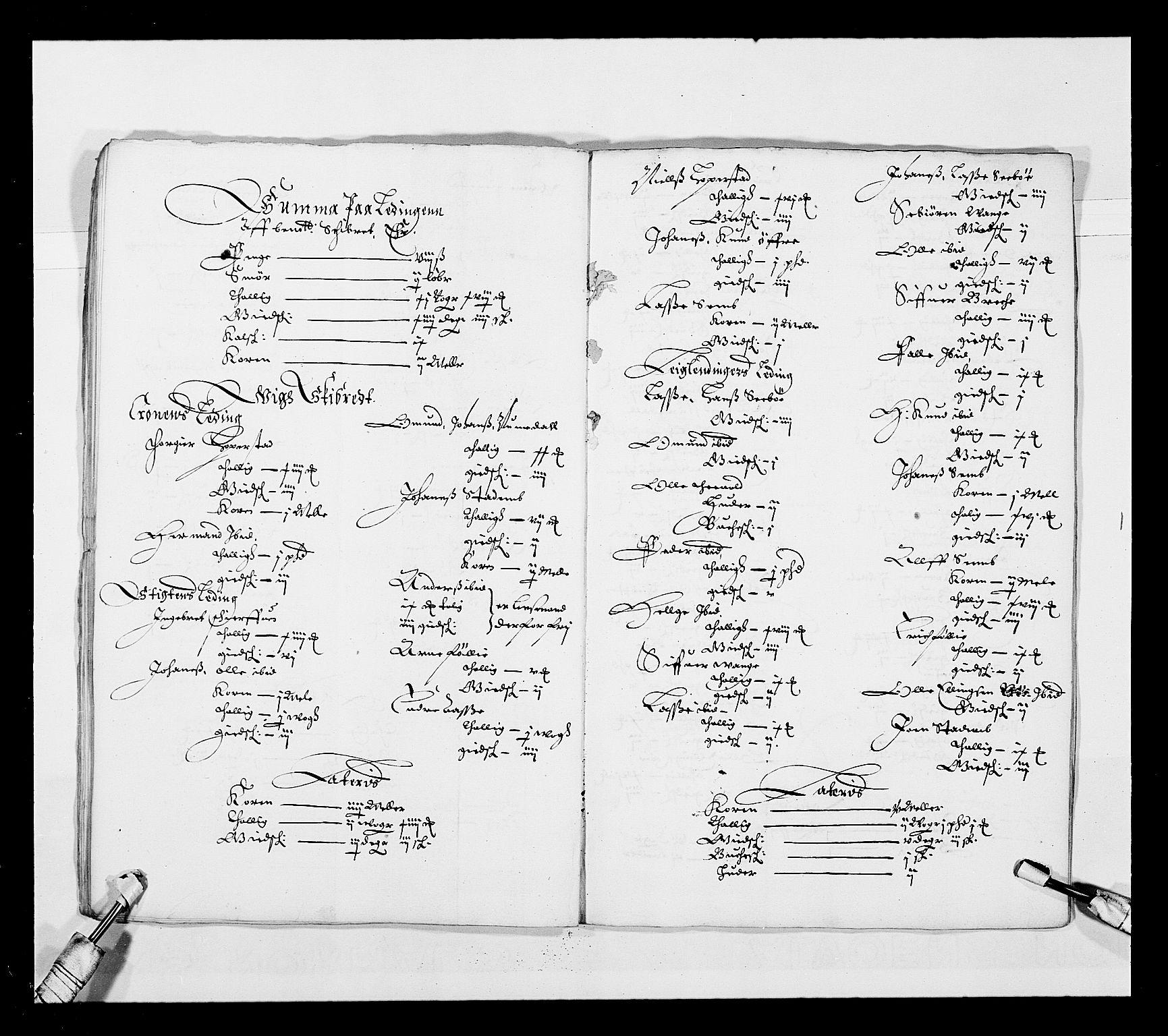 RA, Stattholderembetet 1572-1771, Ek/L0025: Jordebøker 1633-1658:, 1645-1646, s. 131