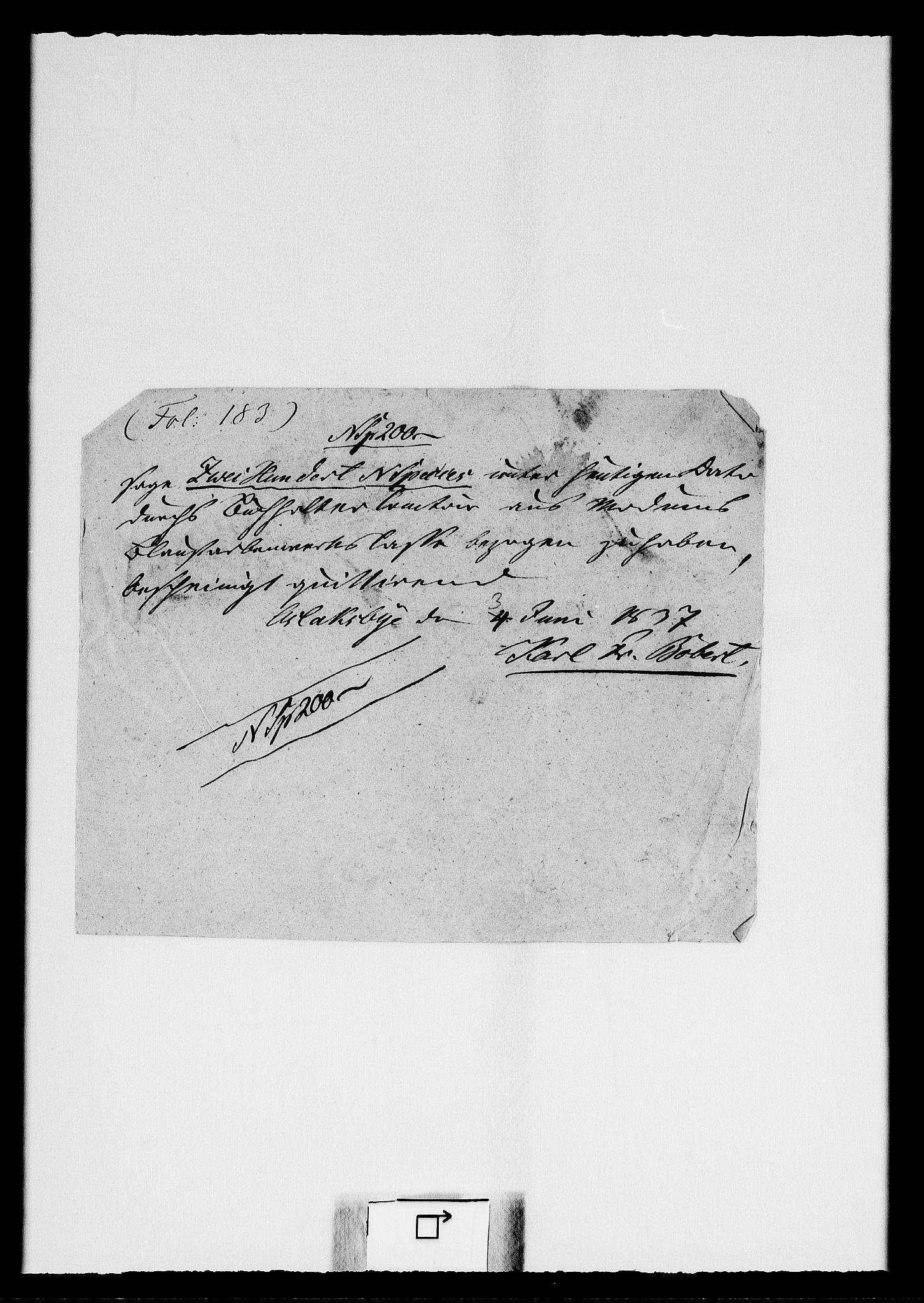 RA, Modums Blaafarveværk, G/Gd/Gdc/L0236, 1836-1838, s. 2