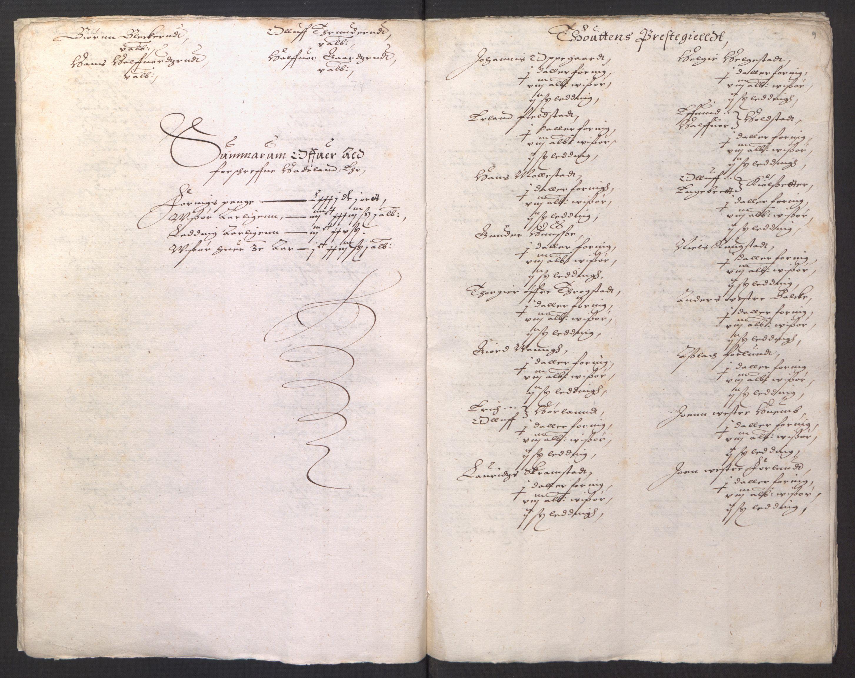 RA, Stattholderembetet 1572-1771, Ek/L0001: Jordebøker før 1624 og til utligning av garnisonsskatt 1624-1626:, 1624-1625, s. 75