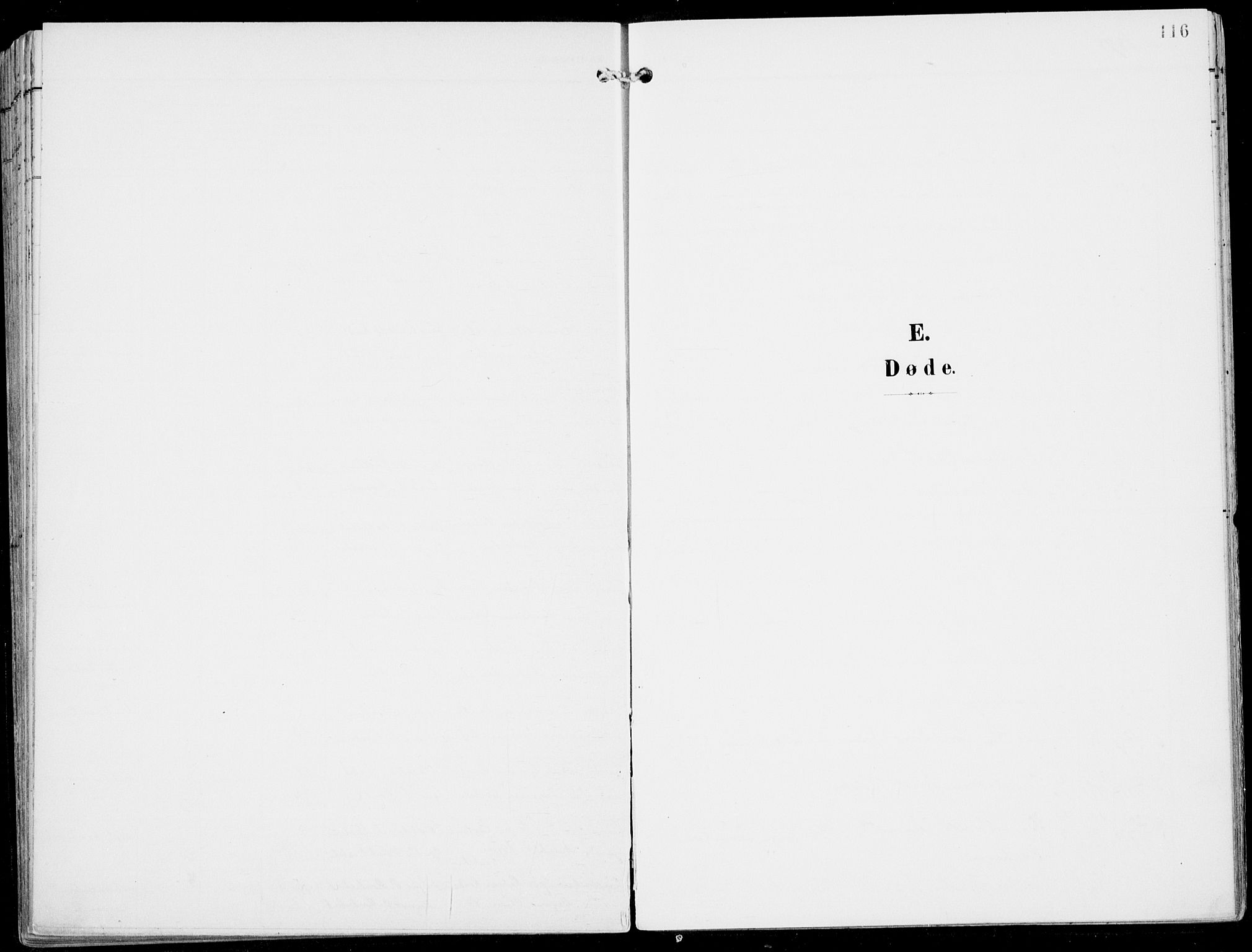 SAB, Ulvik Sokneprestembete, H/Haa: Ministerialbok nr. B  2, 1898-1924, s. 116