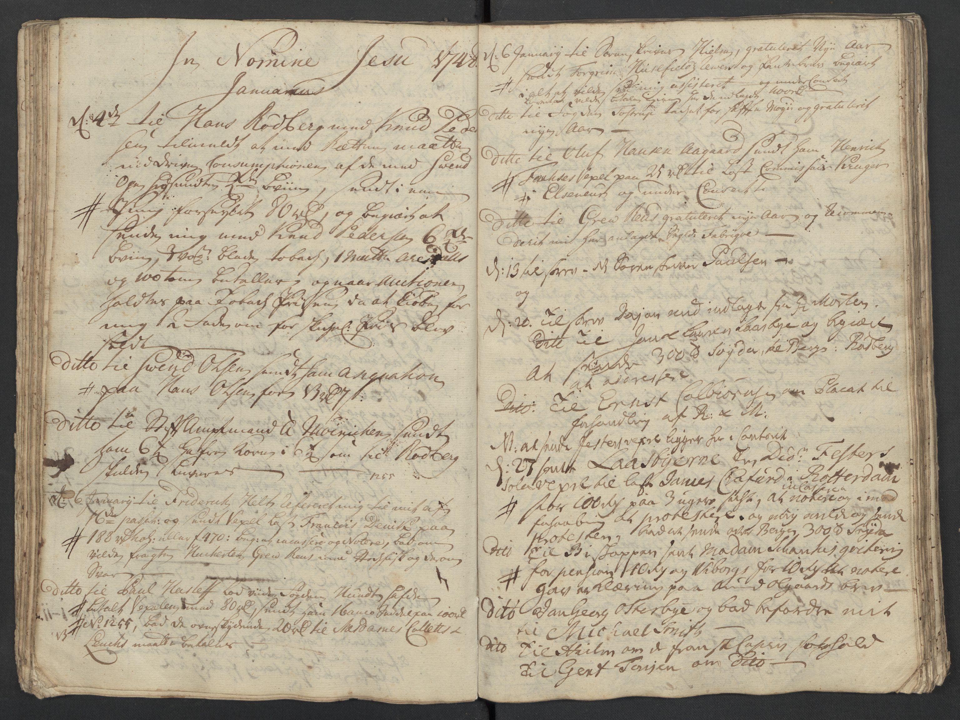 SAST, Pa 0119 - Smith, Lauritz Andersen og Lauritz Lauritzen, O/L0001: Kopibøker m.m., 1746-1755, s. 59