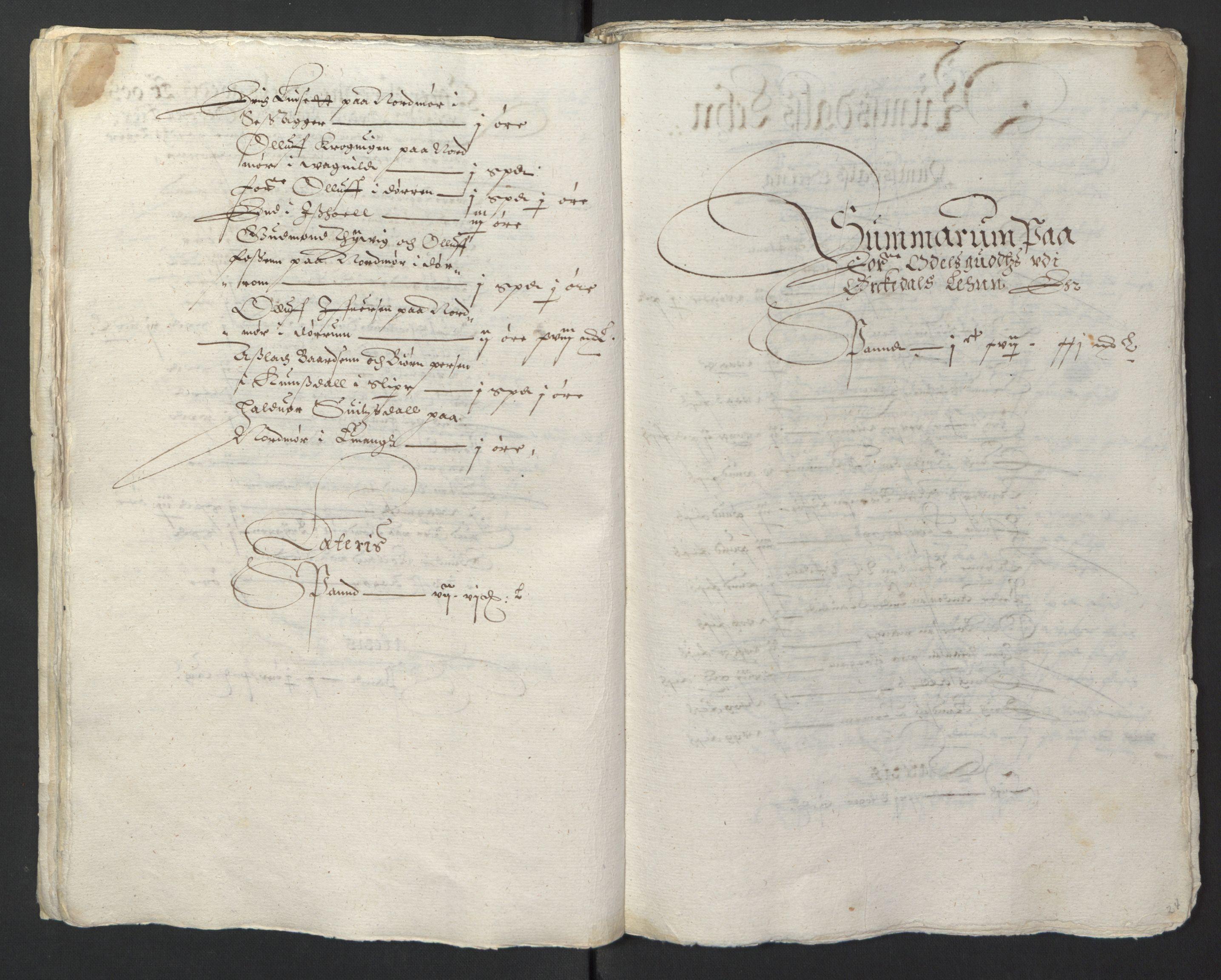 RA, Stattholderembetet 1572-1771, Ek/L0013: Jordebøker til utlikning av rosstjeneste 1624-1626:, 1624-1625, s. 27