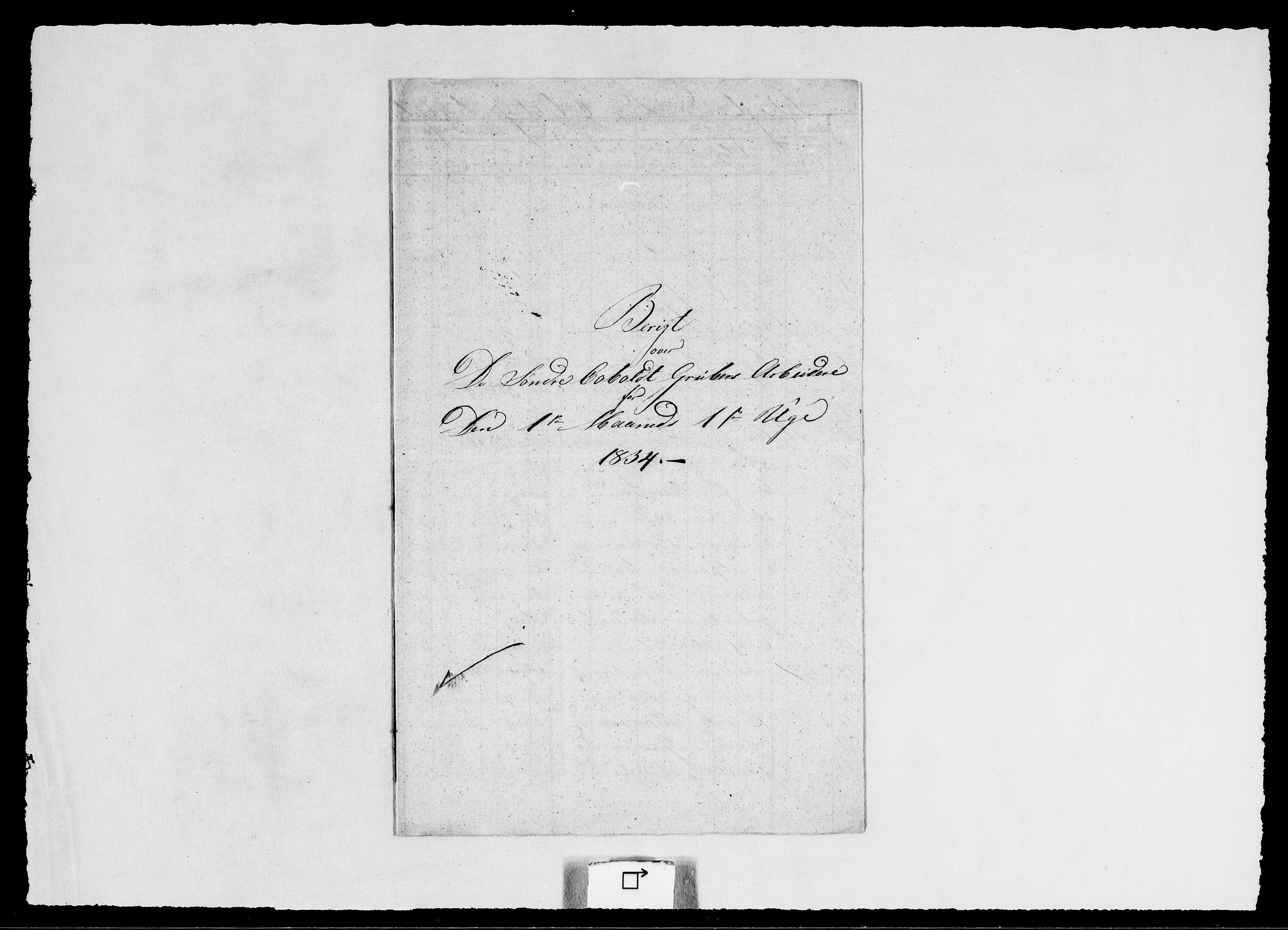 RA, Modums Blaafarveværk, G/Ge/L0343, 1834, s. 2