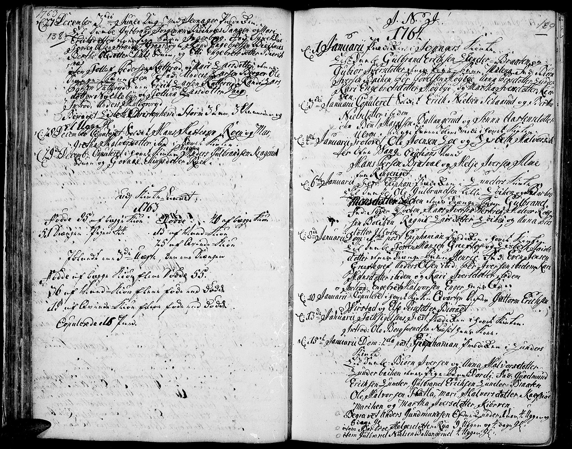 SAH, Jevnaker prestekontor, Ministerialbok nr. 3, 1752-1799, s. 138-139