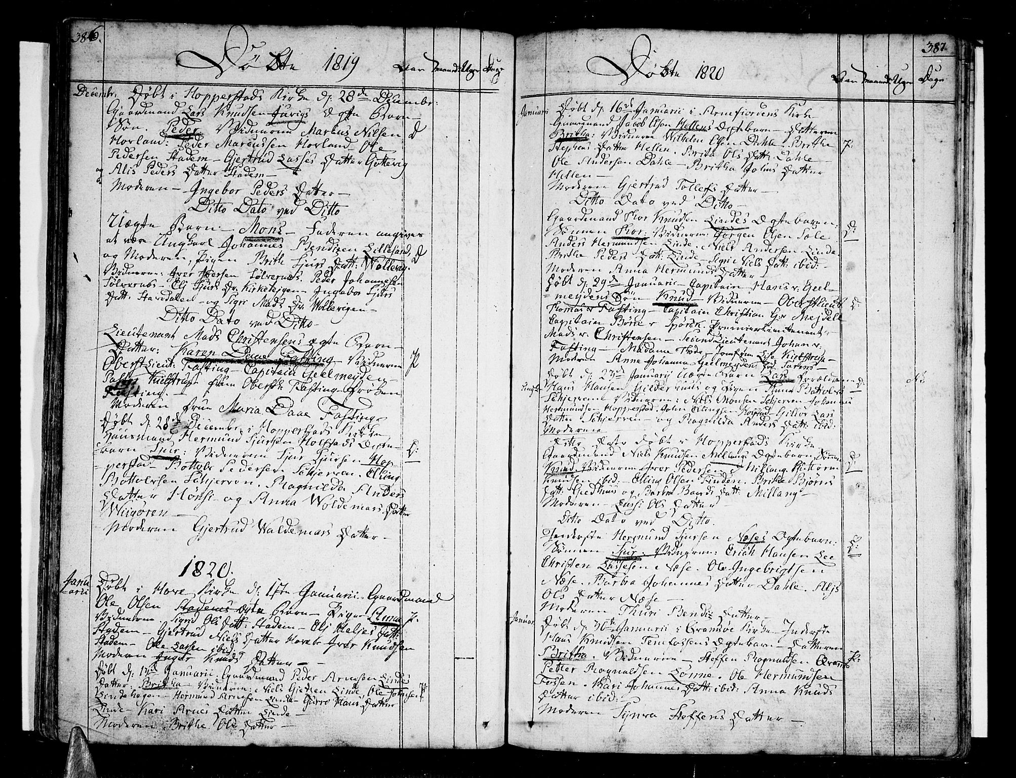 SAB, Vik Sokneprestembete, Ministerialbok nr. A 5, 1787-1820, s. 386-387