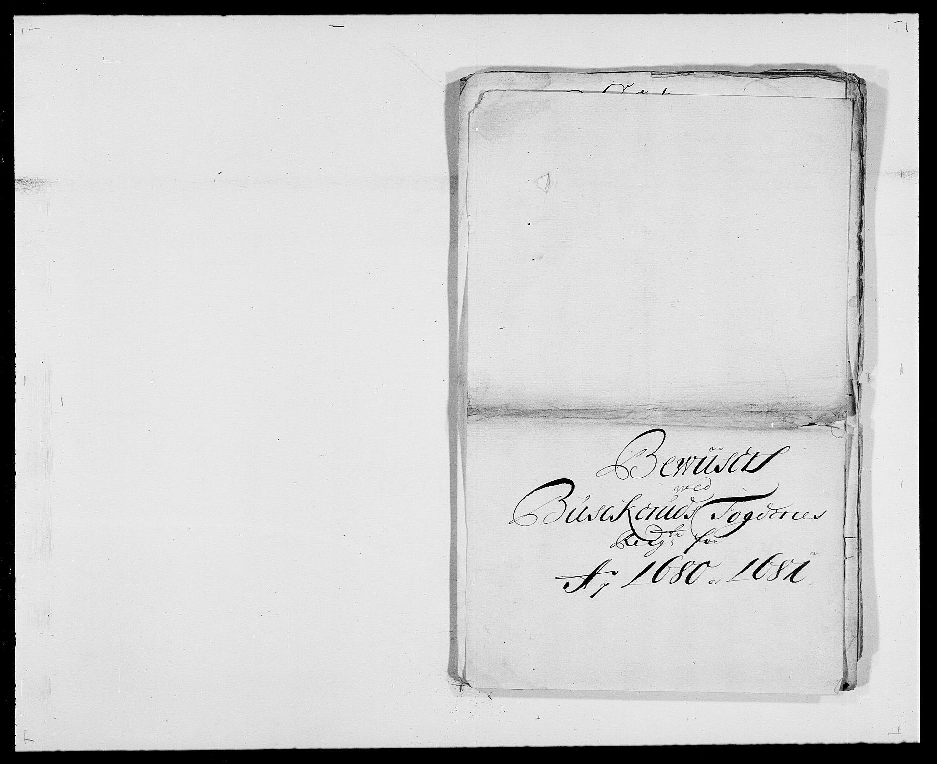 RA, Rentekammeret inntil 1814, Reviderte regnskaper, Fogderegnskap, R25/L1675: Fogderegnskap Buskerud, 1678-1681, s. 366